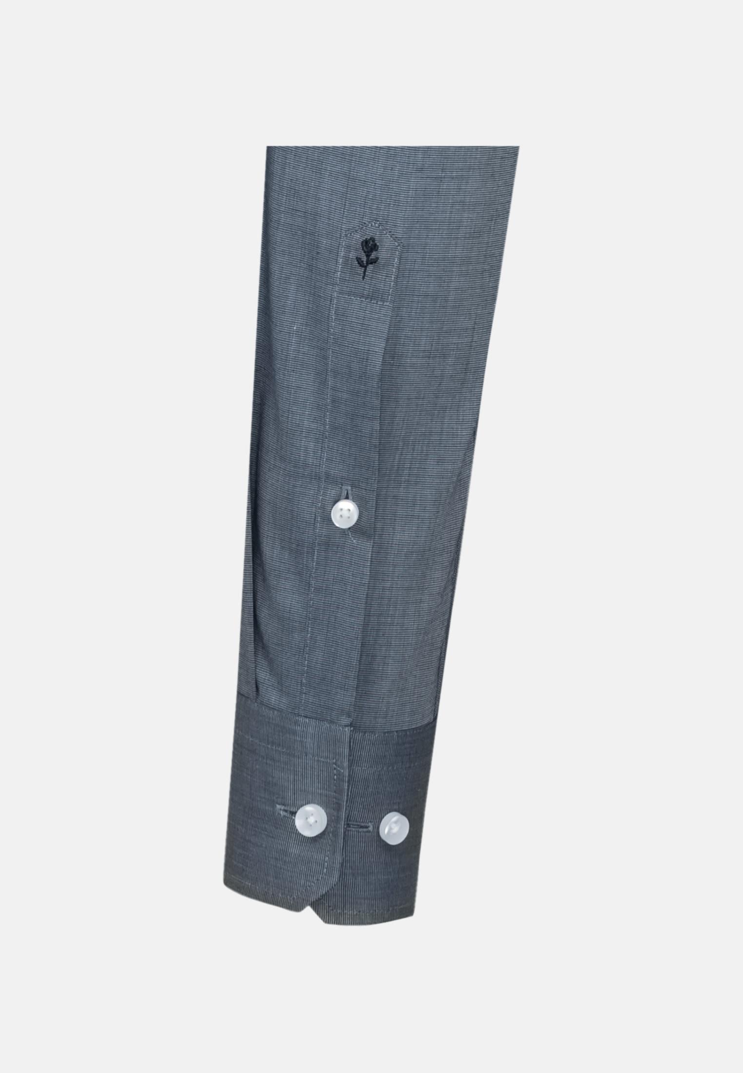 Non-iron Fil a fil Business Shirt in Shaped with Kent-Collar in Light blue |  Seidensticker Onlineshop