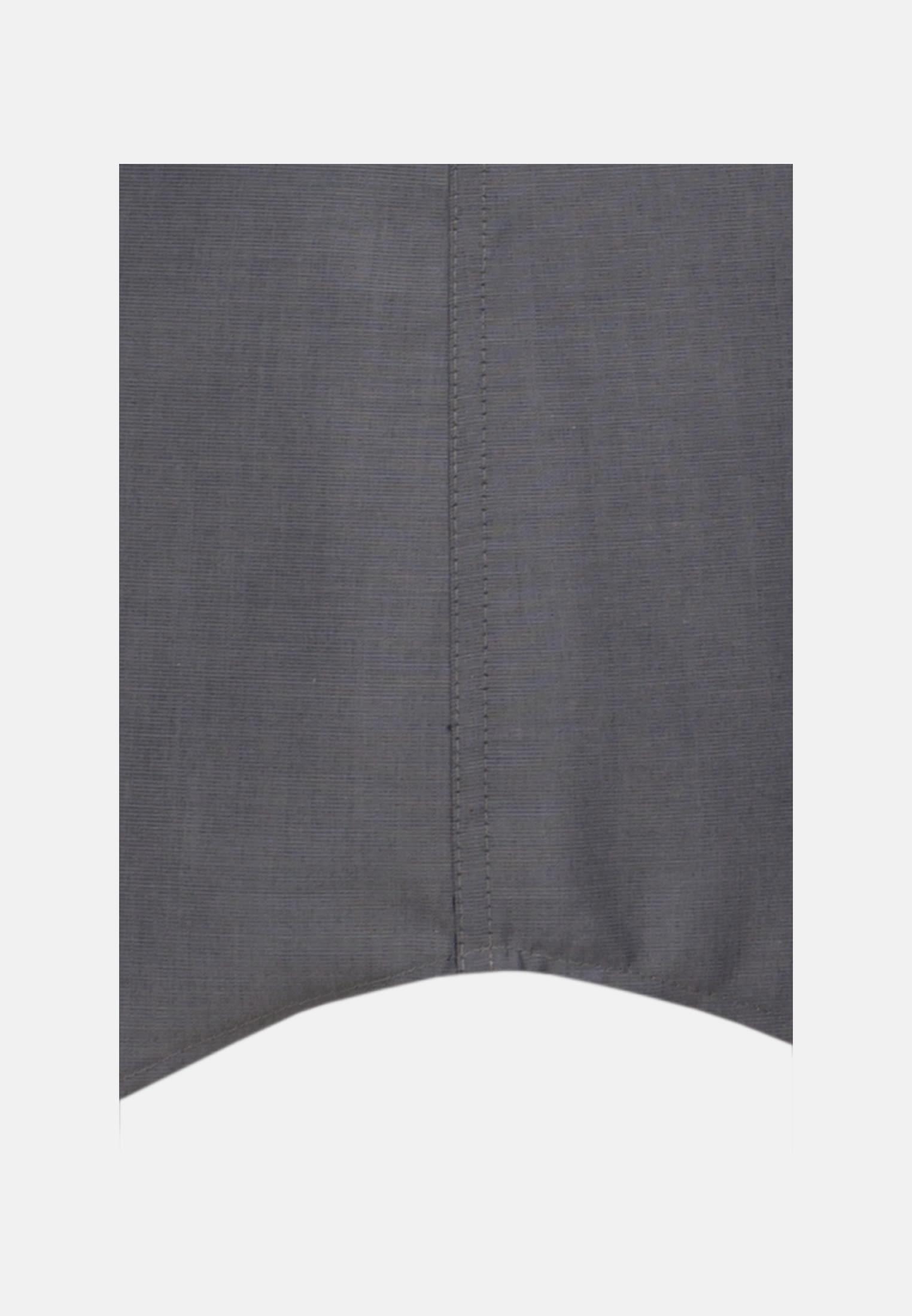 Bügelfreies Fil a fil Kurzarm Business Hemd in Tailored mit Kentkragen in Grau |  Seidensticker Onlineshop