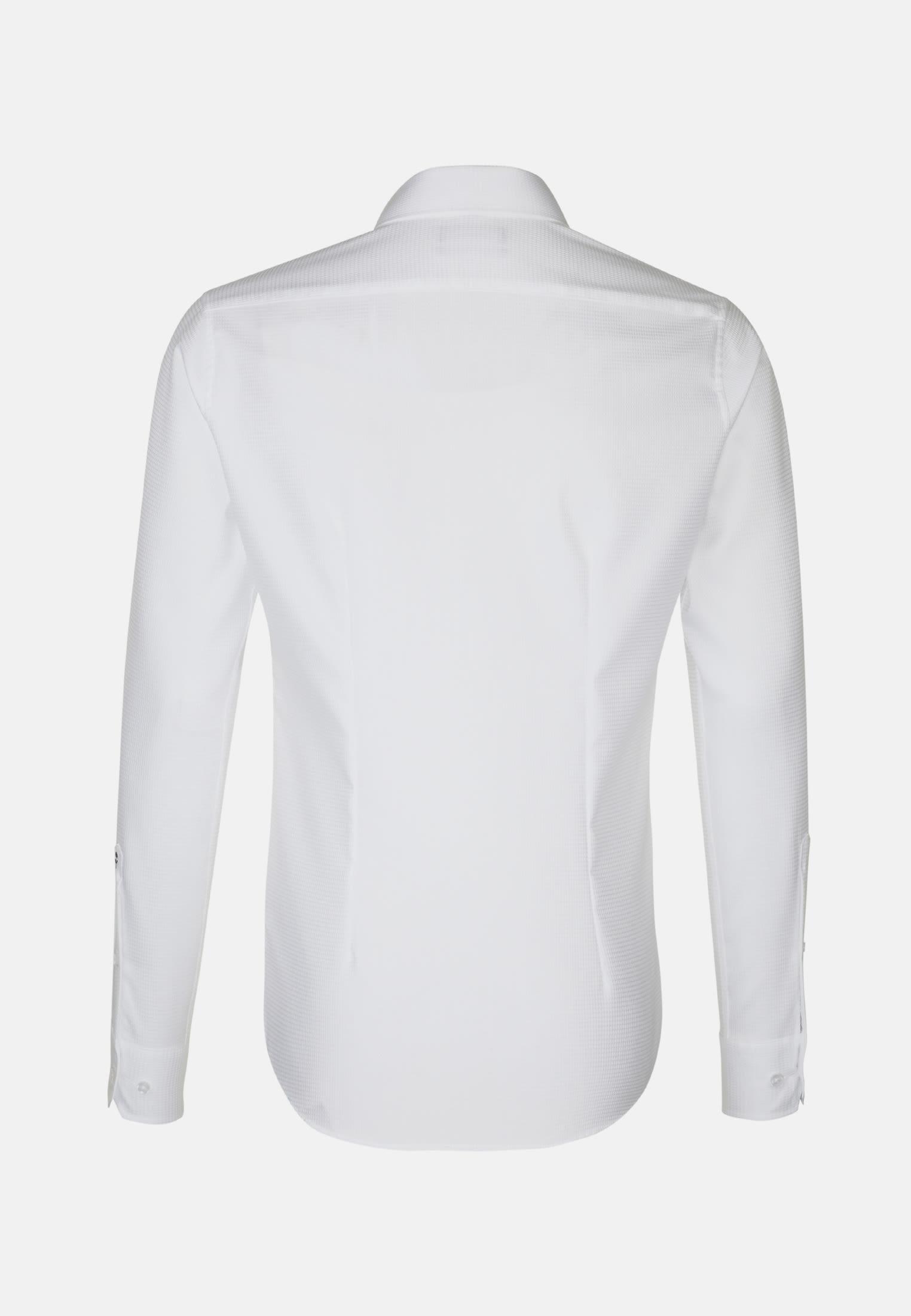 Non-iron Structure Business Shirt in X-Slim with Kent-Collar in White |  Seidensticker Onlineshop