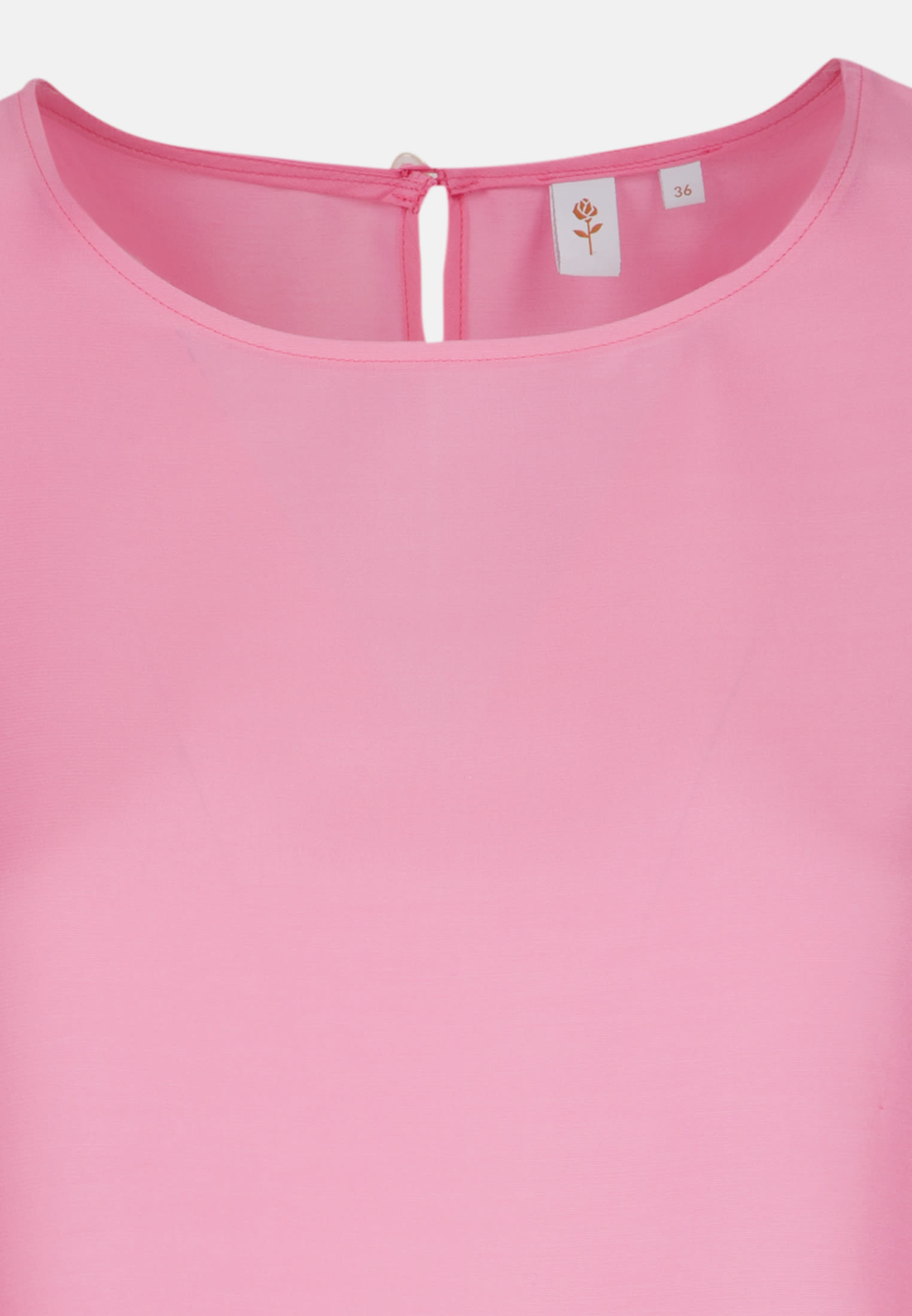 3/4 Arm Voile Shirtbluse aus 100% Viskose in Rosa/Pink |  Seidensticker Onlineshop