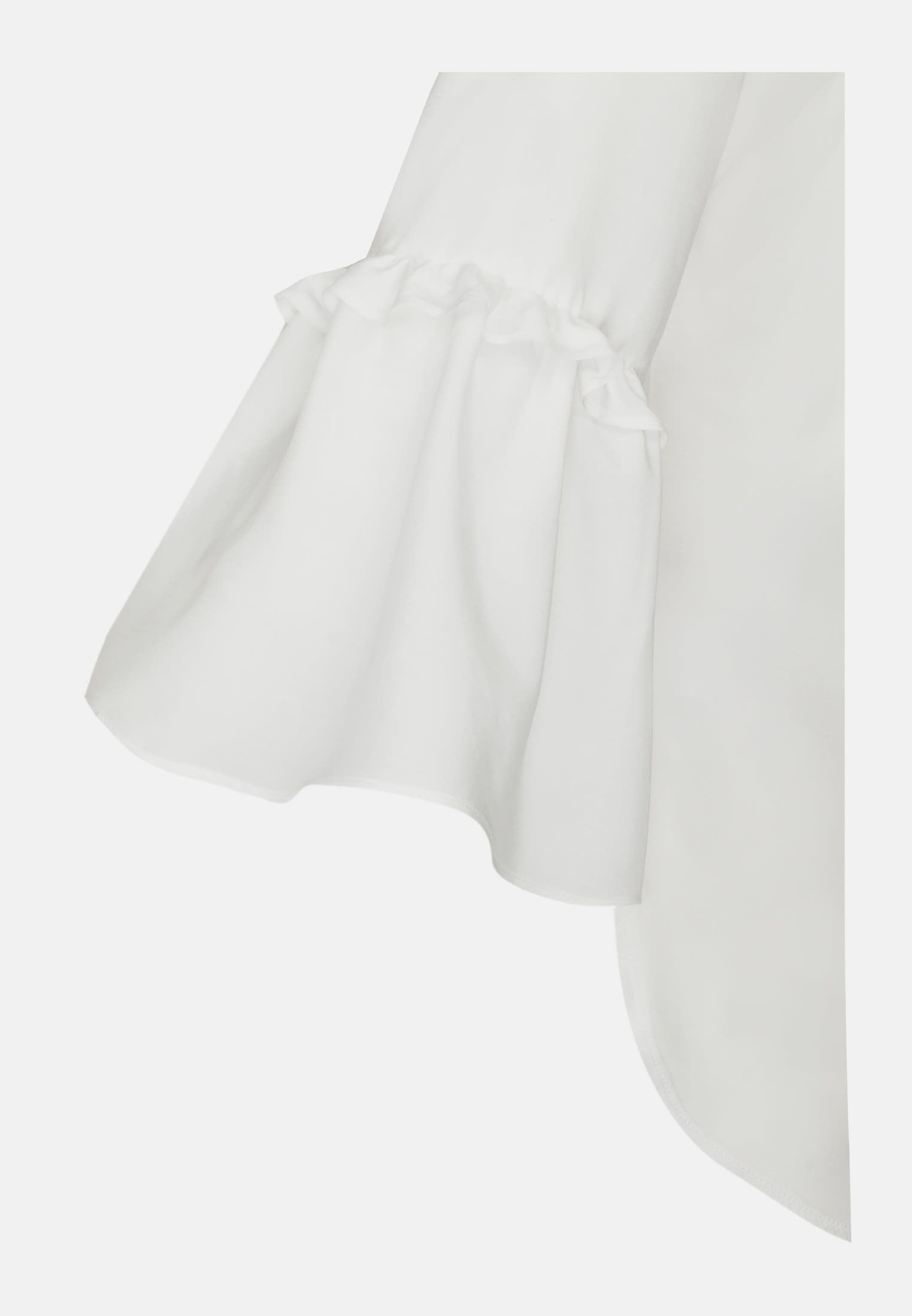 3/4 arm Voile Shirt Blouse aus 100% Viskose in offwhite |  Seidensticker Onlineshop
