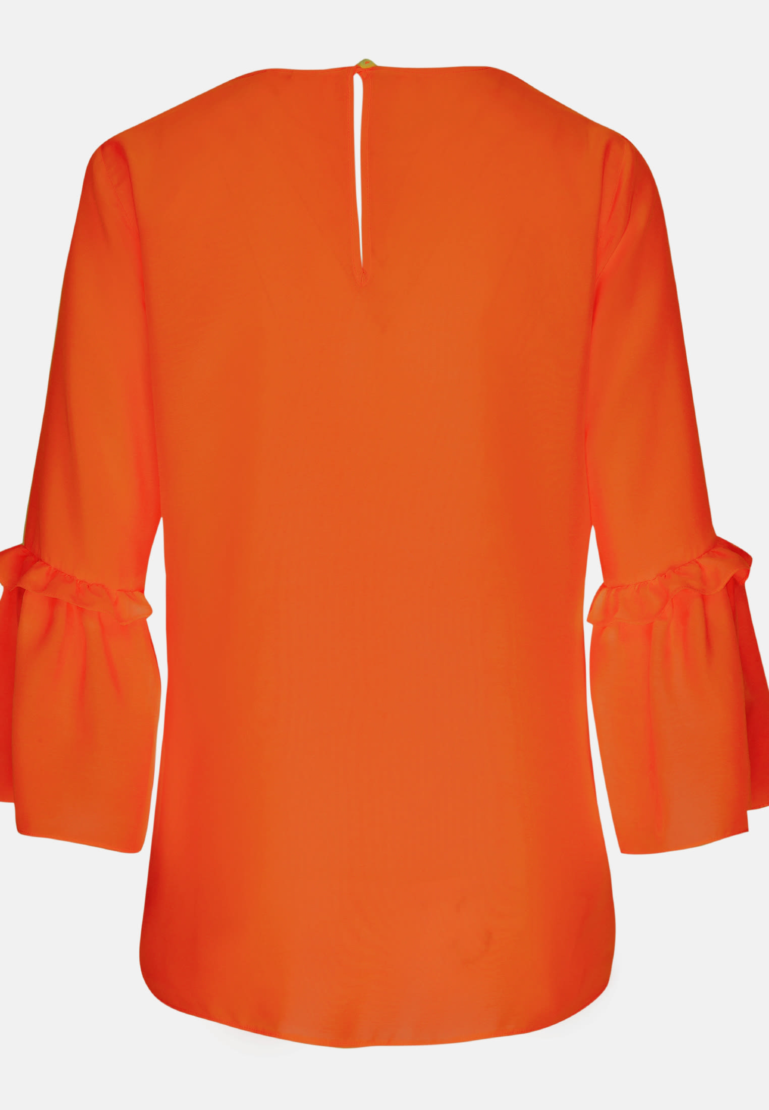 3/4 Arm Voile Shirtbluse aus 100% Viskose in Orange |  Seidensticker Onlineshop