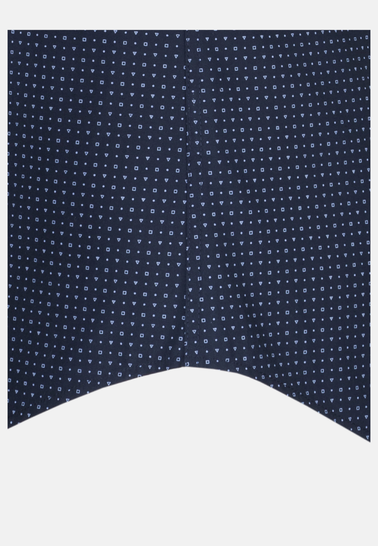 Easy-iron Poplin Short arm Business Shirt in Tailored with Kent-Collar in Medium blue |  Seidensticker Onlineshop