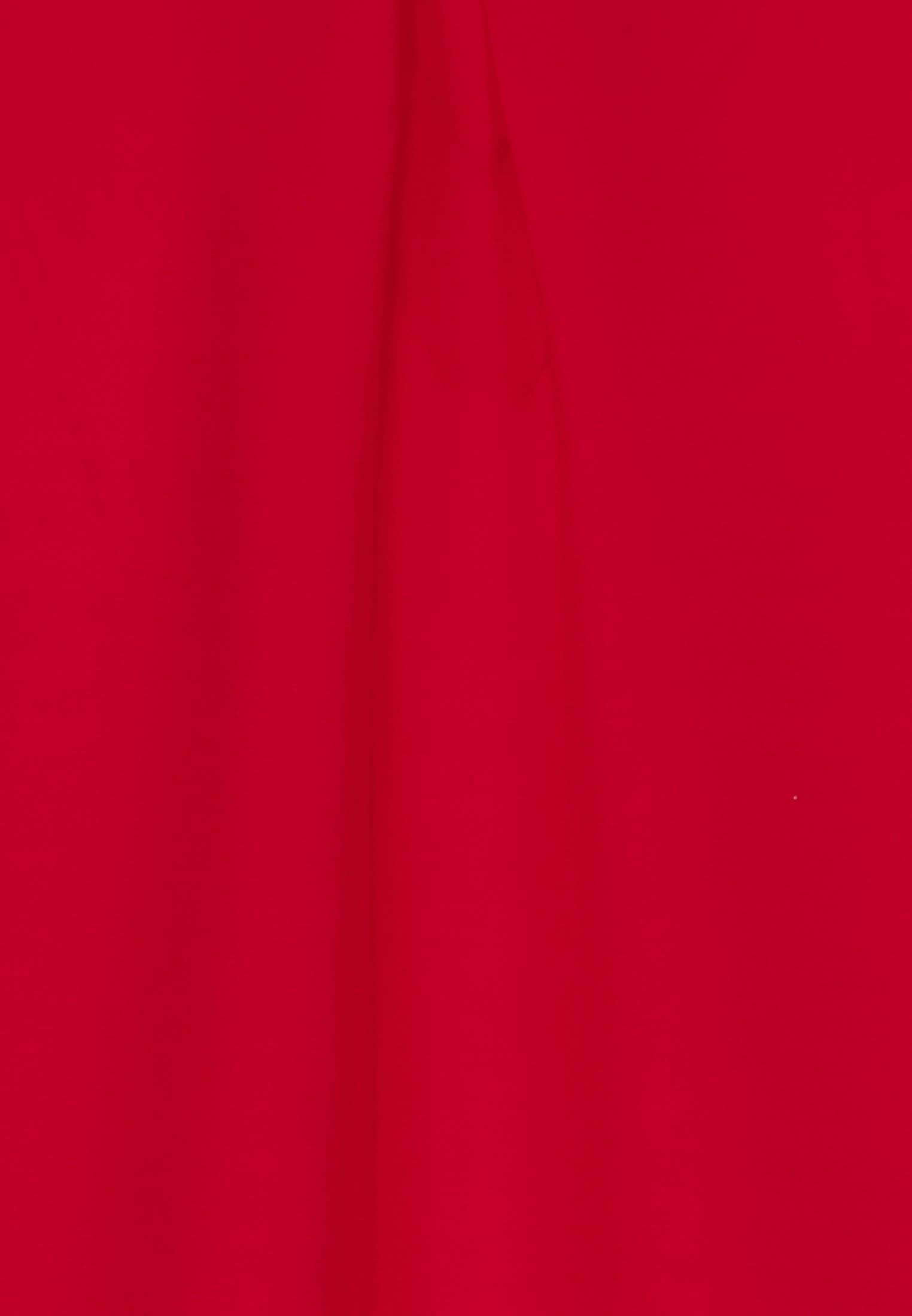 Voile Schlupfbluse aus 100% Viskose in Rot |  Seidensticker Onlineshop