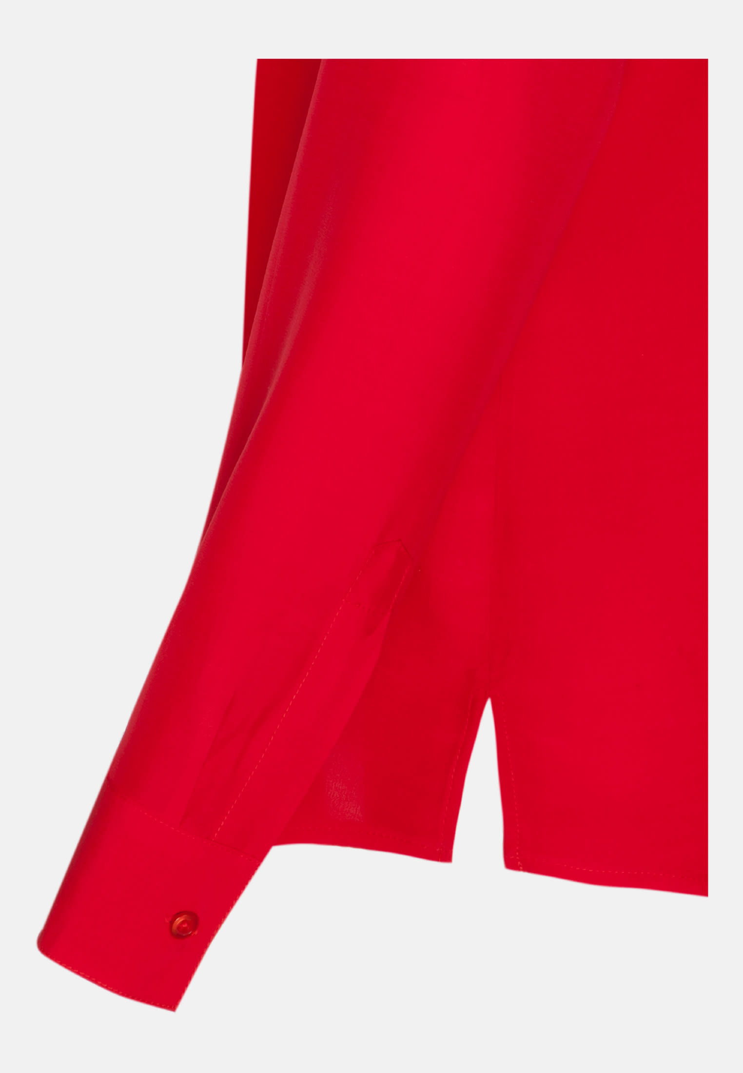 Voile Slip Over Blouse made of 100% Viskose in Red |  Seidensticker Onlineshop