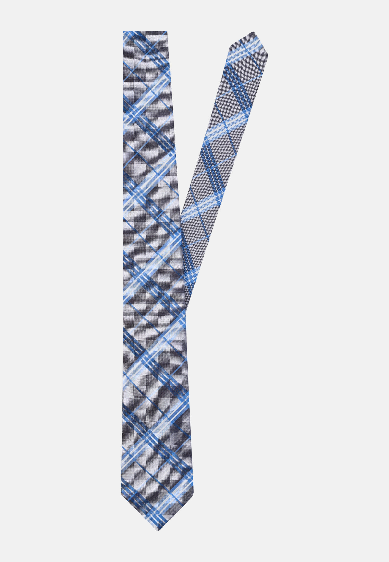 Tie made of 100% Silk 7 cm wide in aqua |  Seidensticker Onlineshop