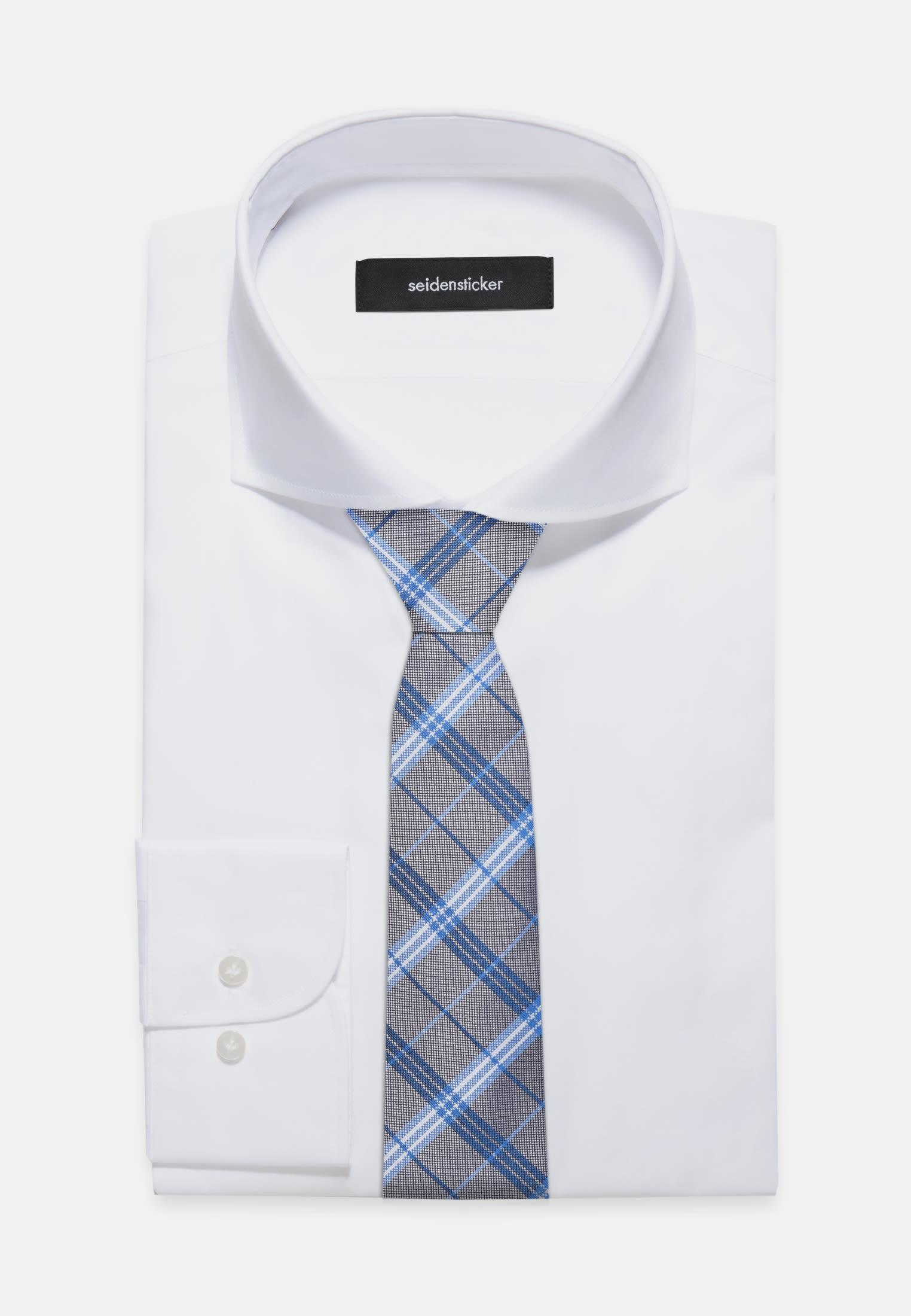 Tie made of 100% Silk 7 cm wide in Turquoise |  Seidensticker Onlineshop