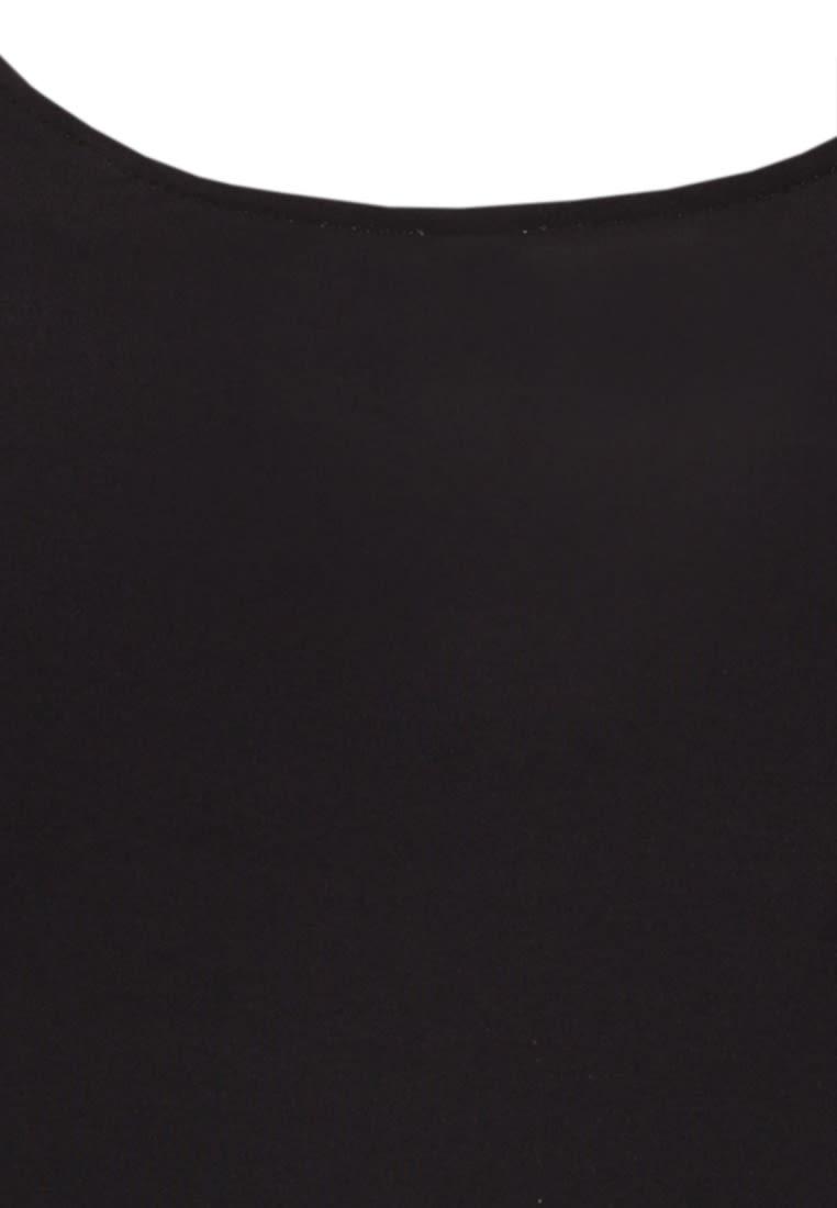 Ärmellose Jersey Top aus 96% Baumwolle 4% Elastan in Schwarz |  Seidensticker Onlineshop