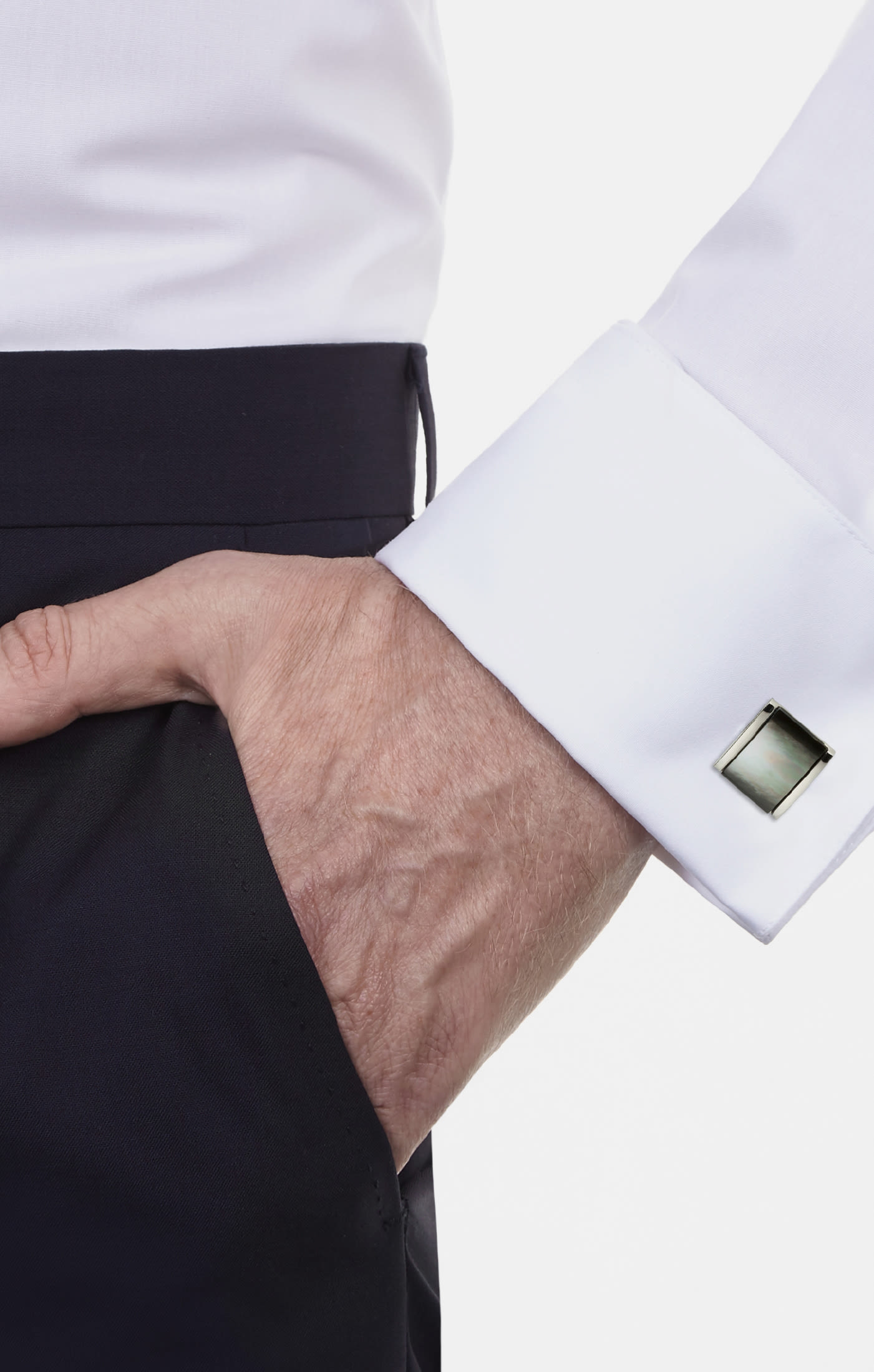 Cuff Links in Grey |  Seidensticker Onlineshop