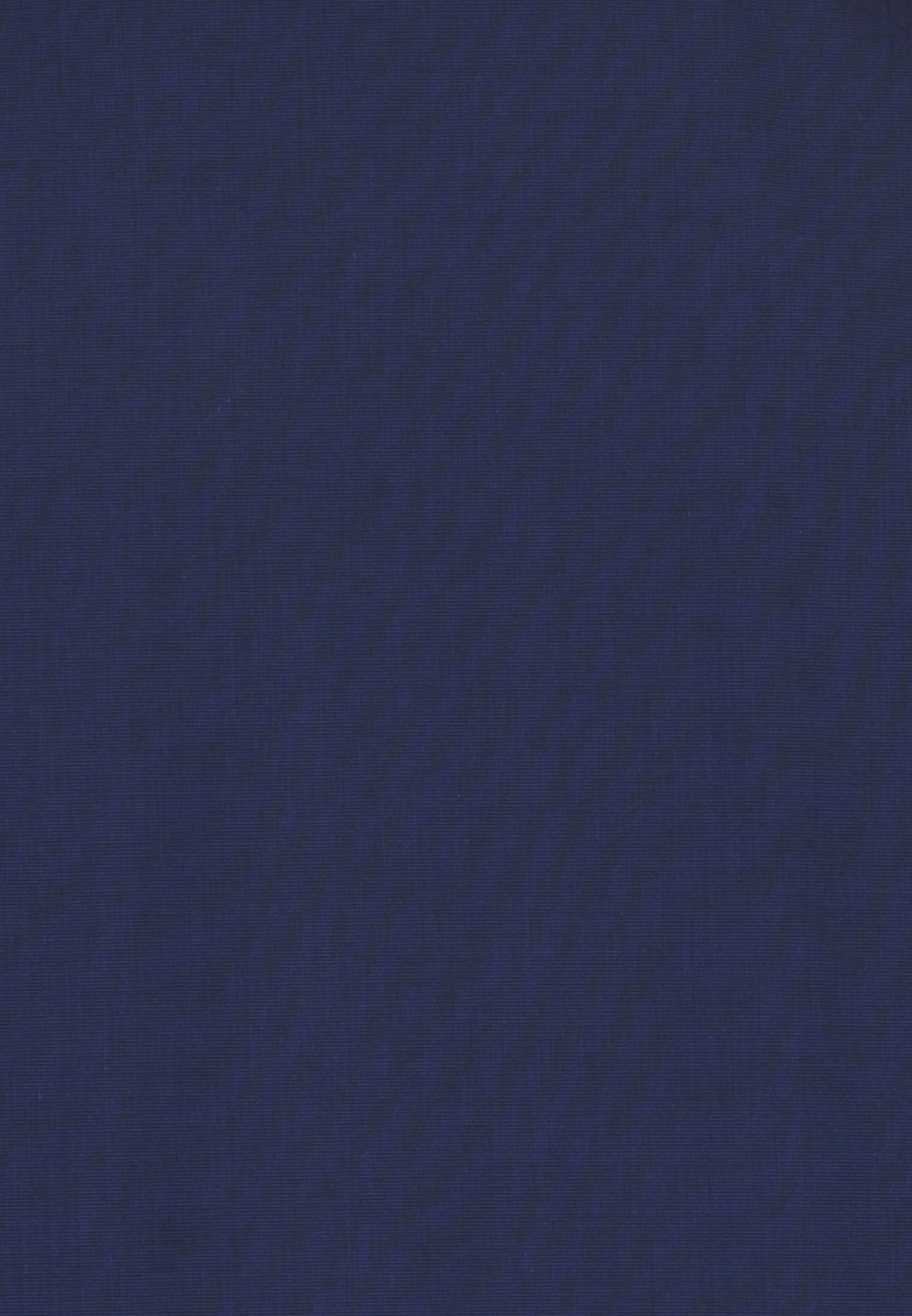 Non-iron Fil a fil Business Shirt in Modern with Kent-Collar in Dark blue    Seidensticker Onlineshop