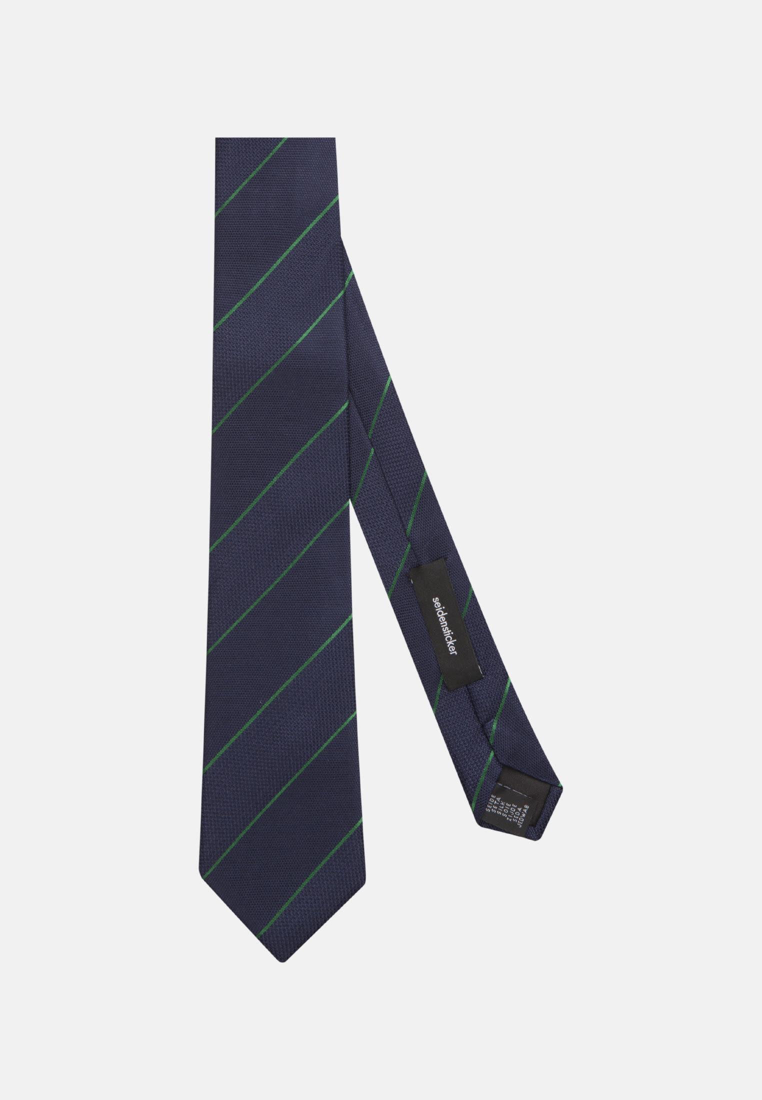 Tie made of 100% Silk 7 cm wide in Green    Seidensticker Onlineshop