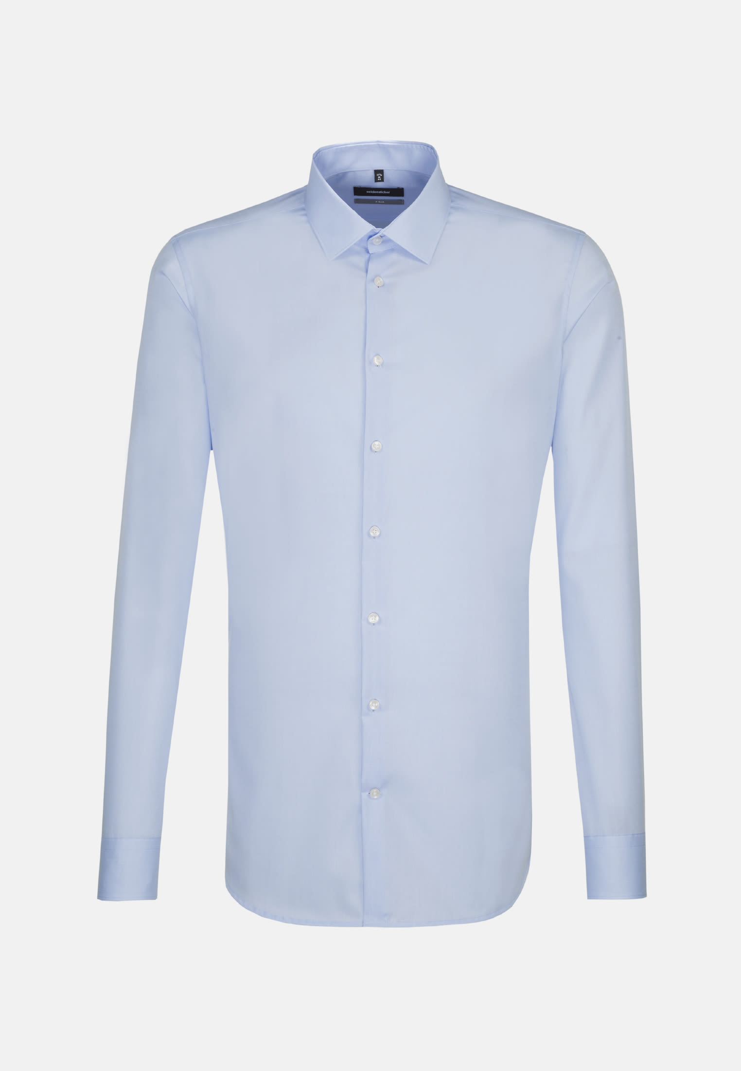 Bügelfreies Popeline Business Hemd in X-Slim mit Kentkragen und extra langem Arm in Hellblau |  Seidensticker Onlineshop