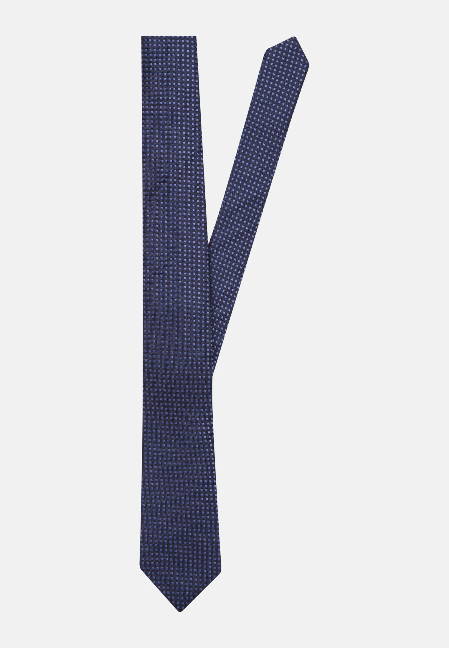 Krawatte aus 100% Seide 7 cm Breit in Mittelblau    Seidensticker Onlineshop
