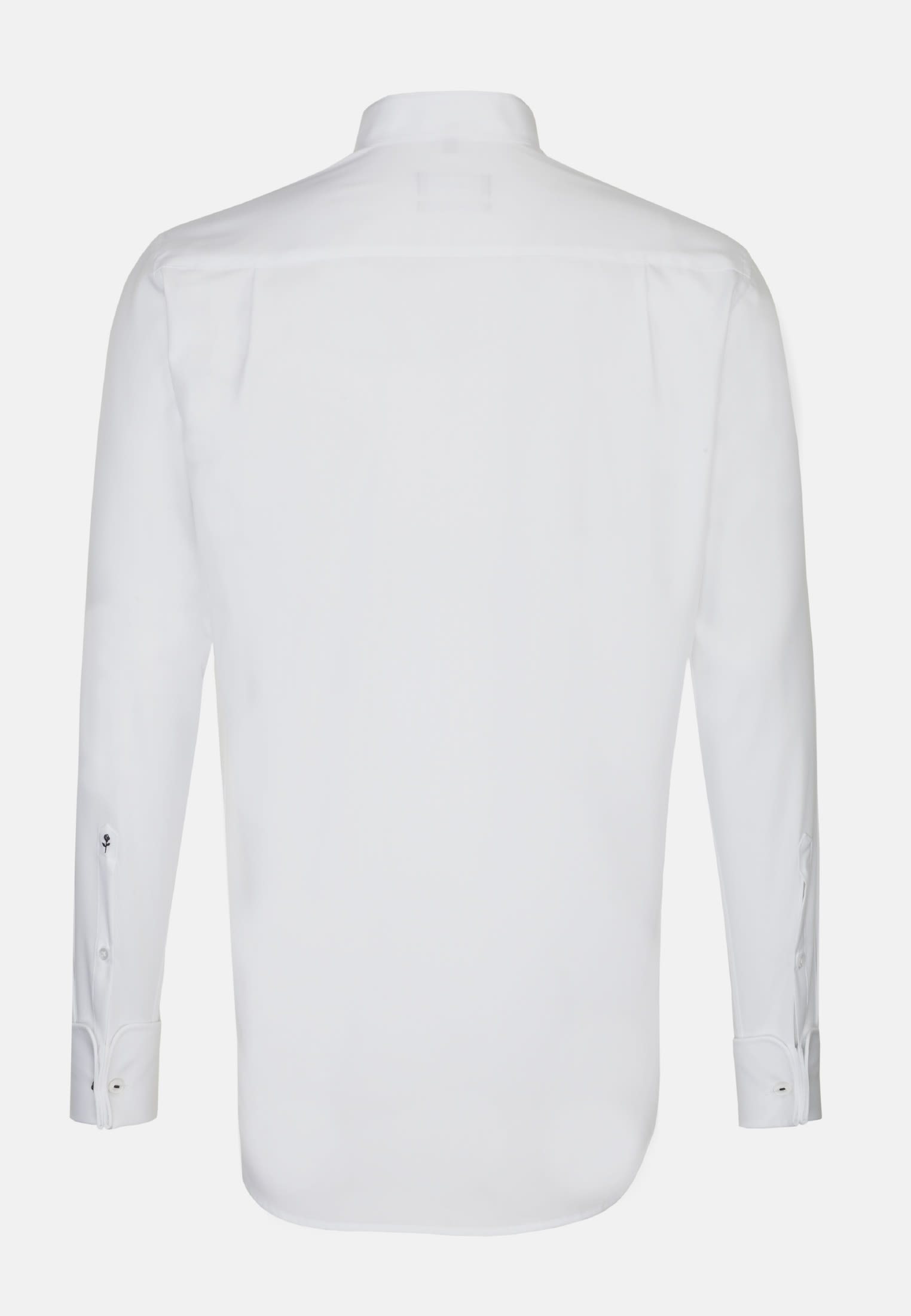 Non-iron Poplin Gala Shirt in Modern with Wing Collar in White |  Seidensticker Onlineshop