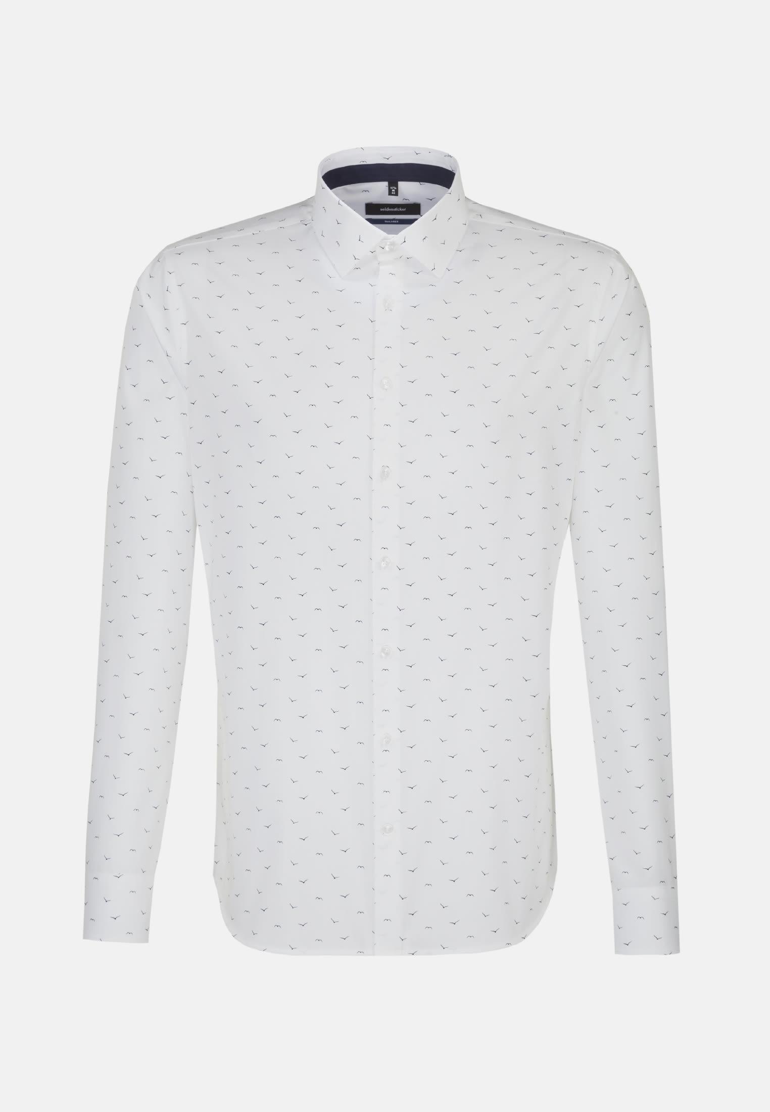 Easy-iron Poplin Business Shirt in Shaped with Kent-Collar in Light blue |  Seidensticker Onlineshop