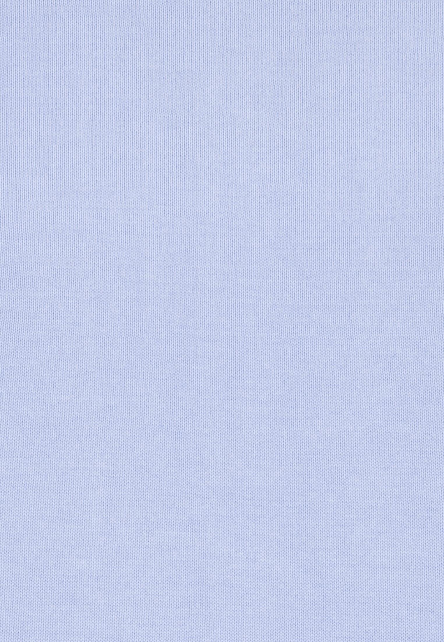 Crew Neck Pullover made of 100% Cotton in hellblau |  Seidensticker Onlineshop