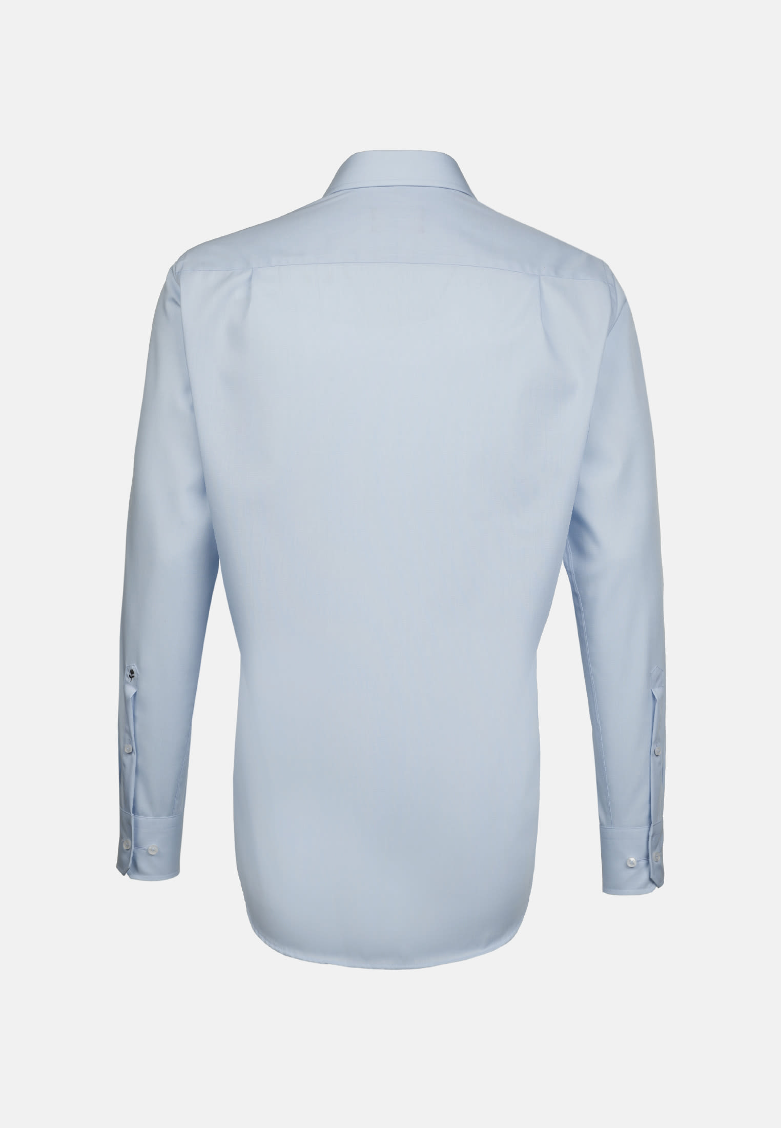 Non-iron Poplin Business Shirt in Regular with Kent-Collar and extra long sleeve in Hellblau |  Seidensticker Onlineshop