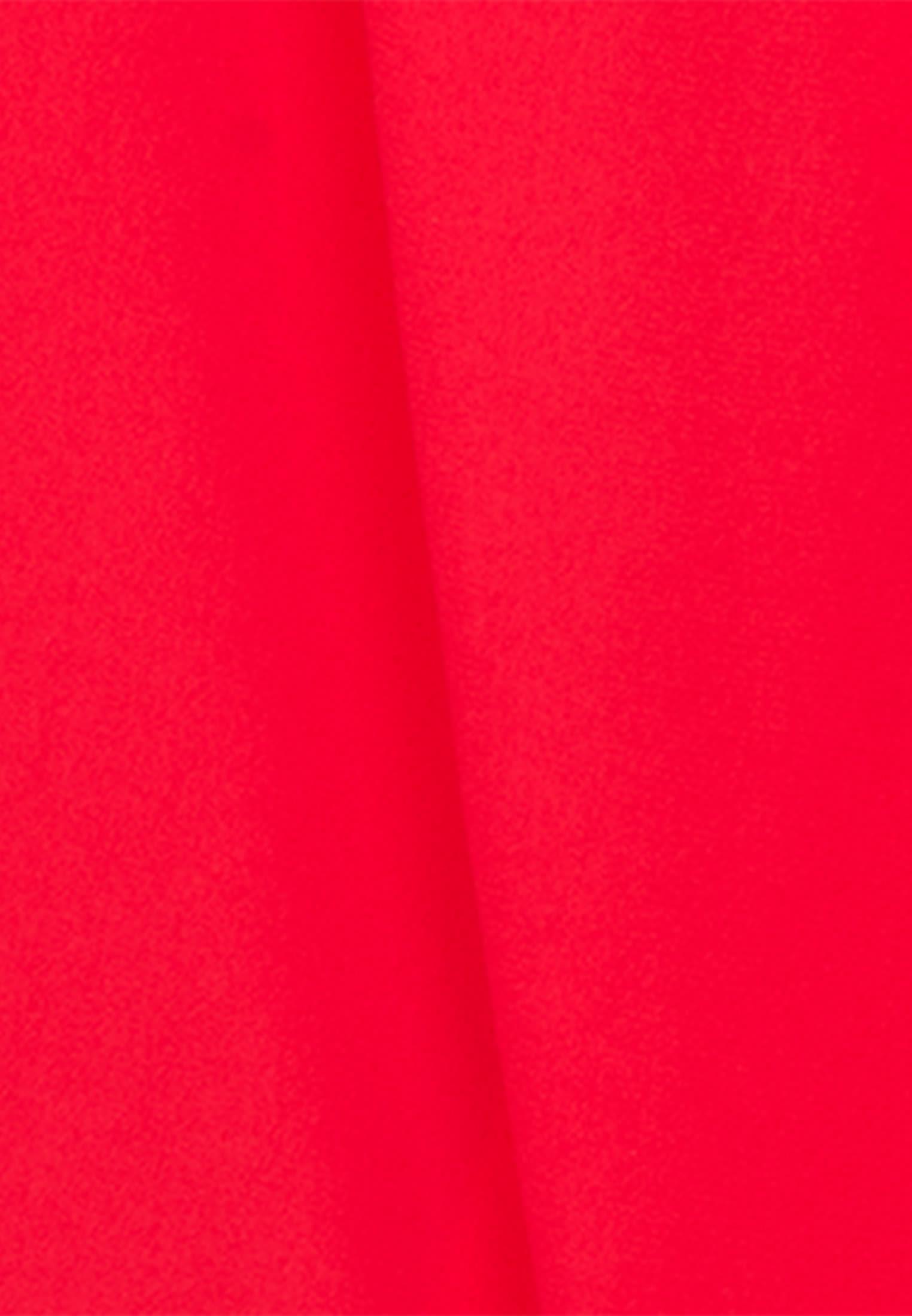 Krepp Wickelbluse aus 100% Polyester in Rot    Seidensticker Onlineshop