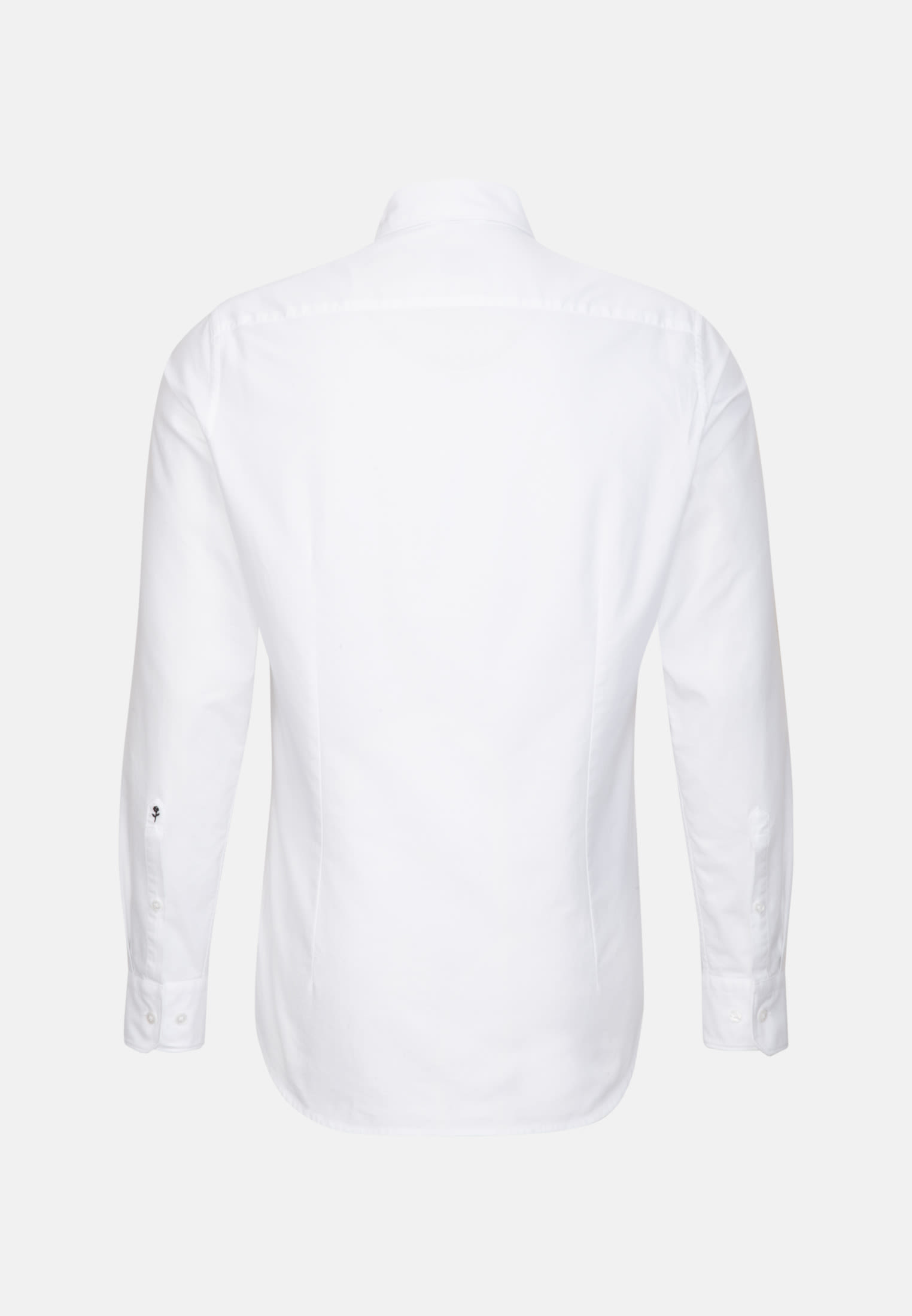 Easy-iron Oxford Business Shirt in Shaped with Button-Down-Collar in White |  Seidensticker Onlineshop