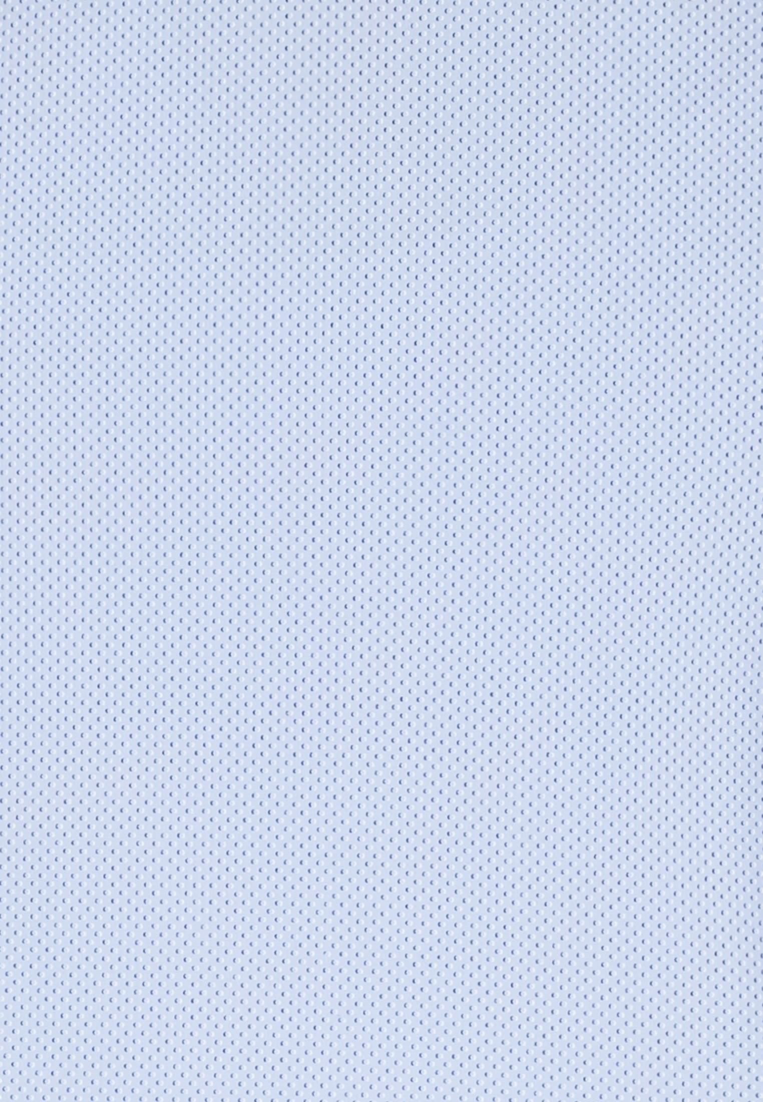 Easy-iron Poplin Business Shirt in X-Slim with Kent-Collar in blau    Seidensticker Onlineshop