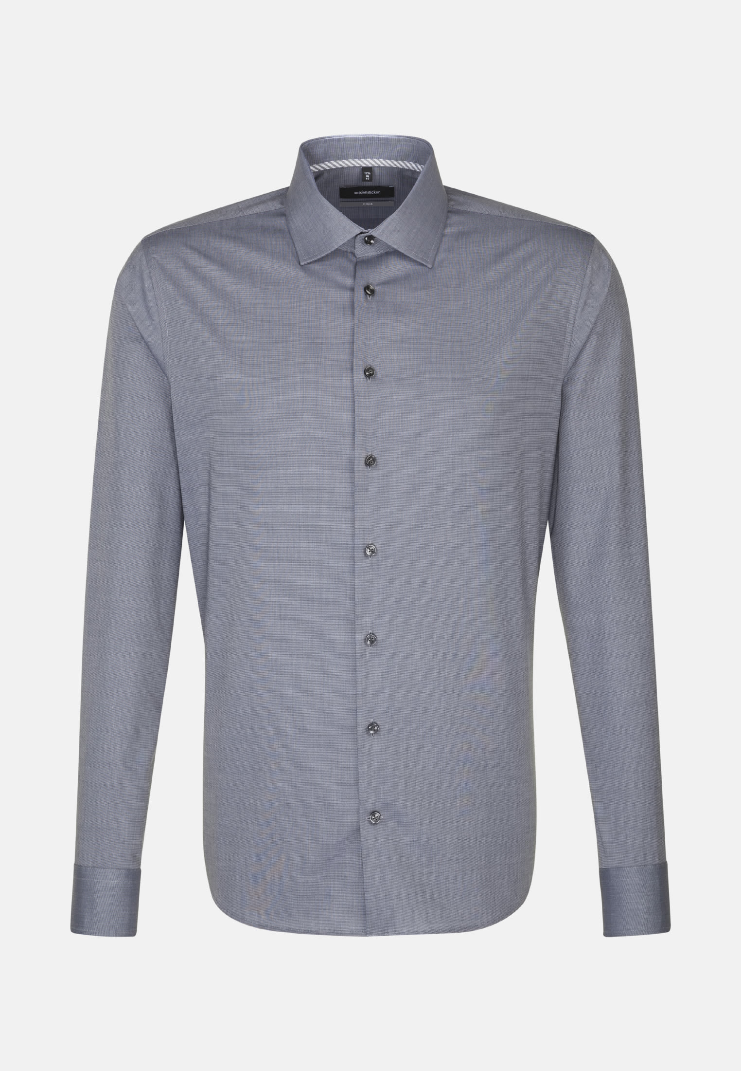 Non-iron Fil a fil Business Shirt in X-Slim with Kent-Collar in Grey |  Seidensticker Onlineshop