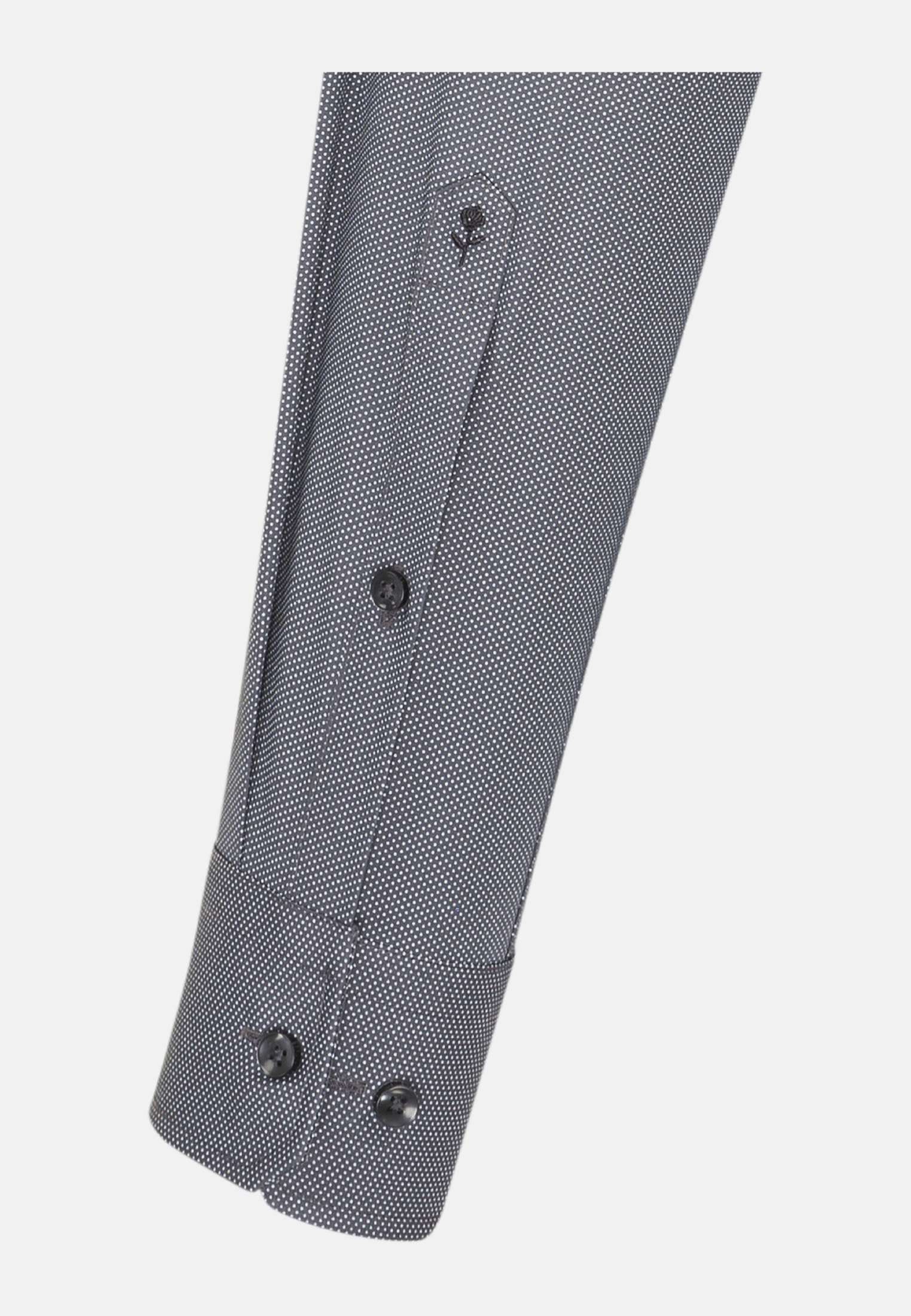 Easy-iron Poplin Business Shirt in X-Slim with Kent-Collar in Grey |  Seidensticker Onlineshop