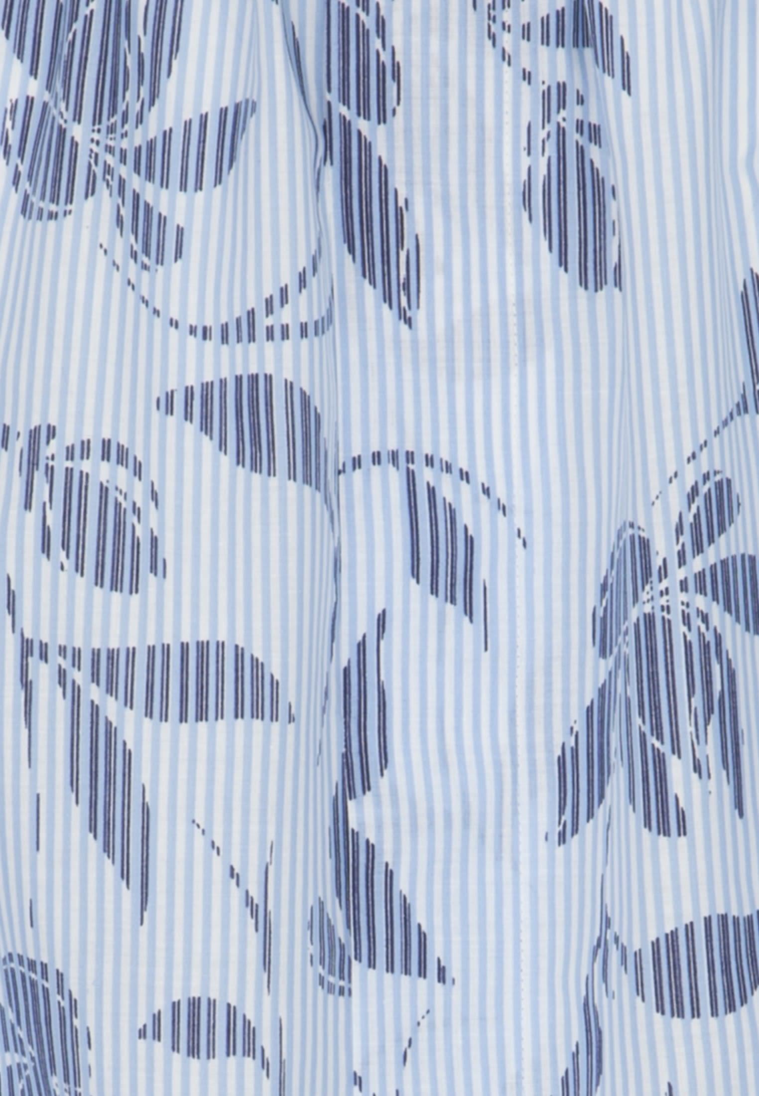 3/4 Arm Voile Carmenbluse aus 100% Baumwolle in Dunkelblau    Seidensticker Onlineshop