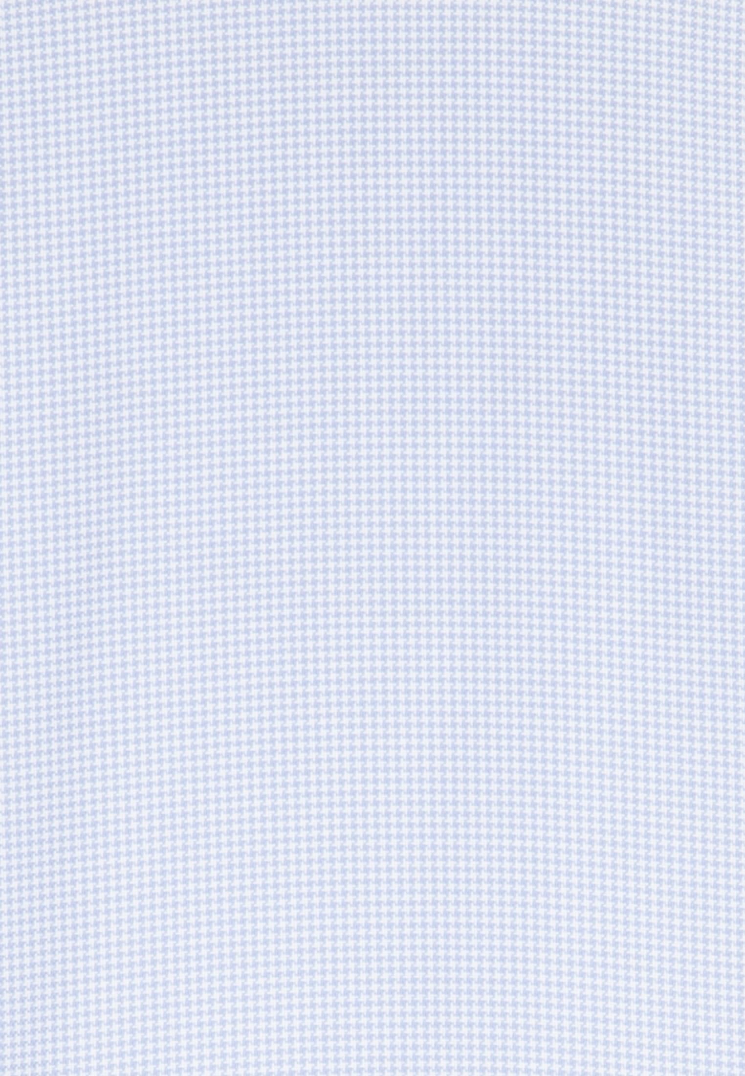 Non-iron Pepita/tooth-peg check Business Shirt in Regular with Kent-Collar in Medium blue |  Seidensticker Onlineshop
