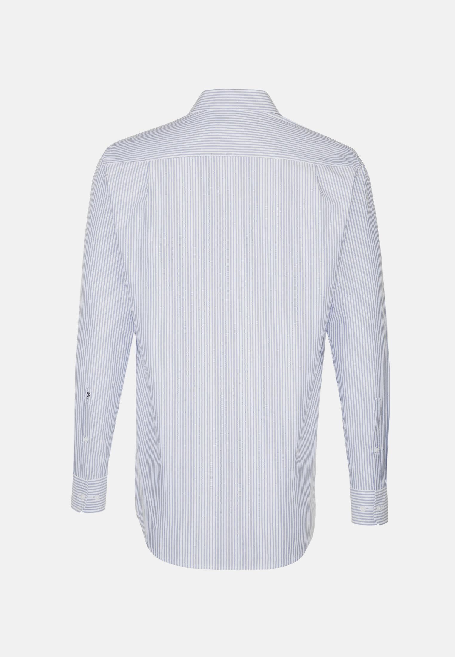 Easy-iron Oxford Business Shirt in Regular with Button-Down-Collar in Light blue |  Seidensticker Onlineshop