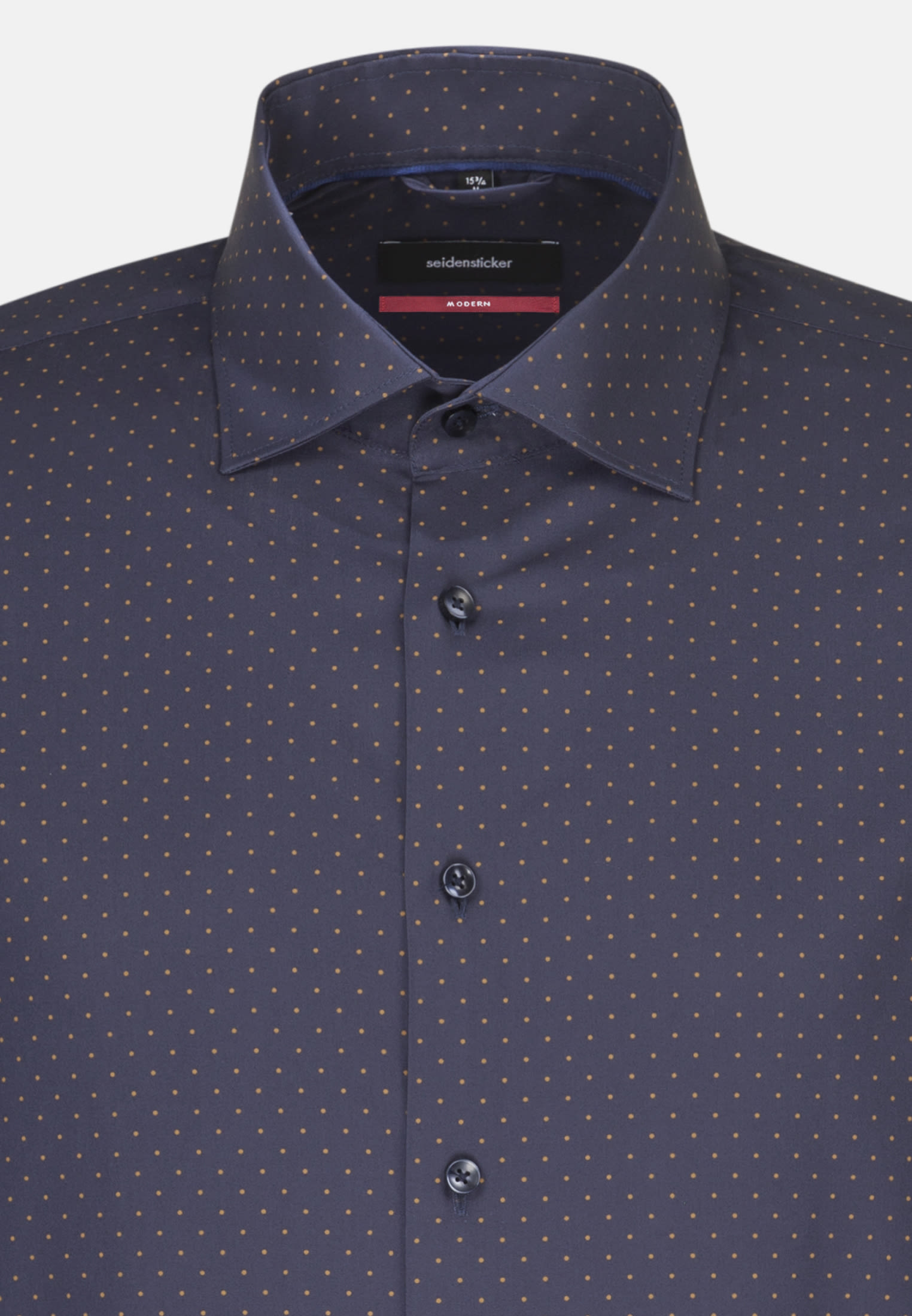 Easy-iron Poplin Business Shirt in Modern with Kent-Collar in braun |  Seidensticker Onlineshop