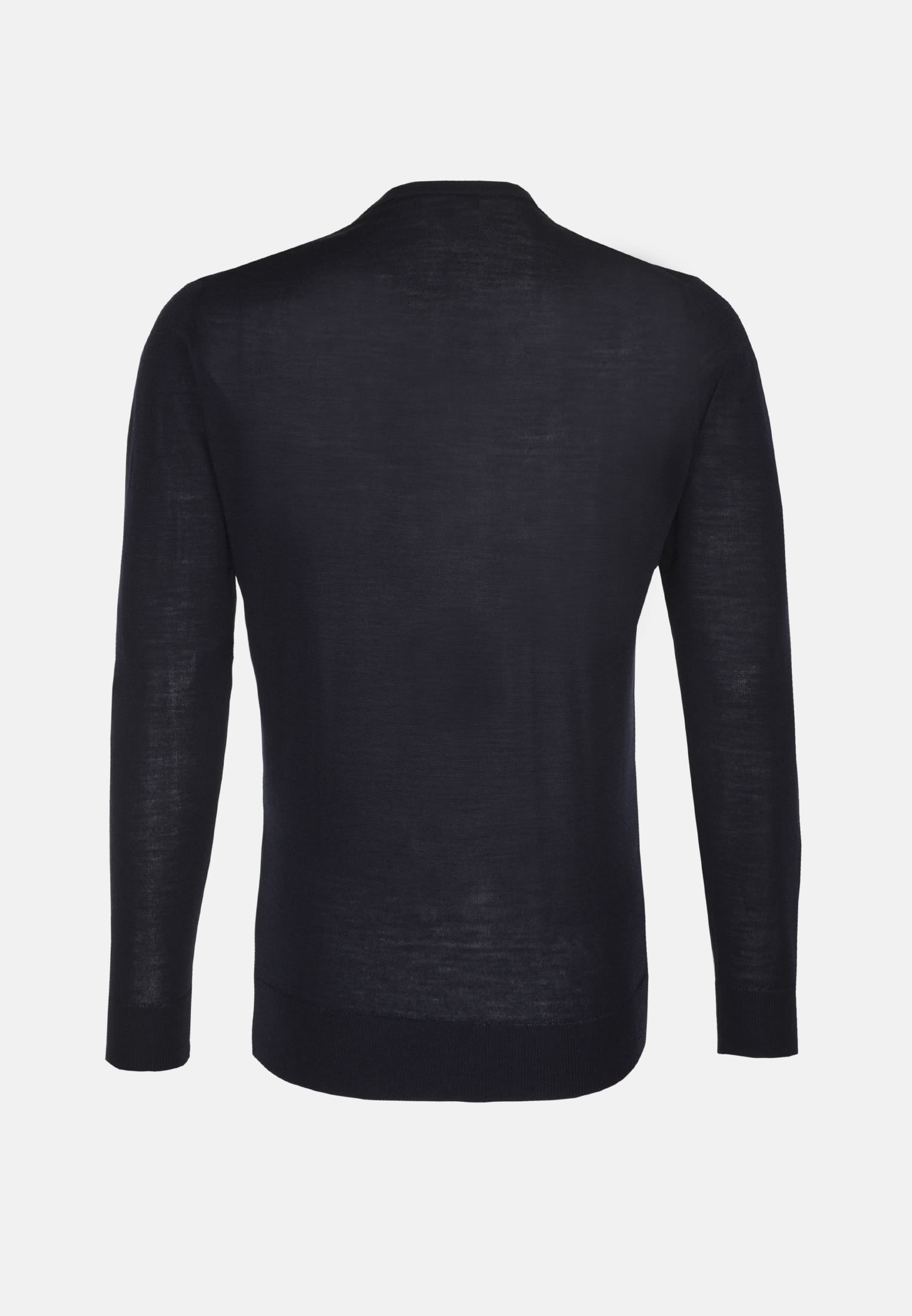 Crew Neck Pullover made of 100% Wolle in navy |  Seidensticker Onlineshop