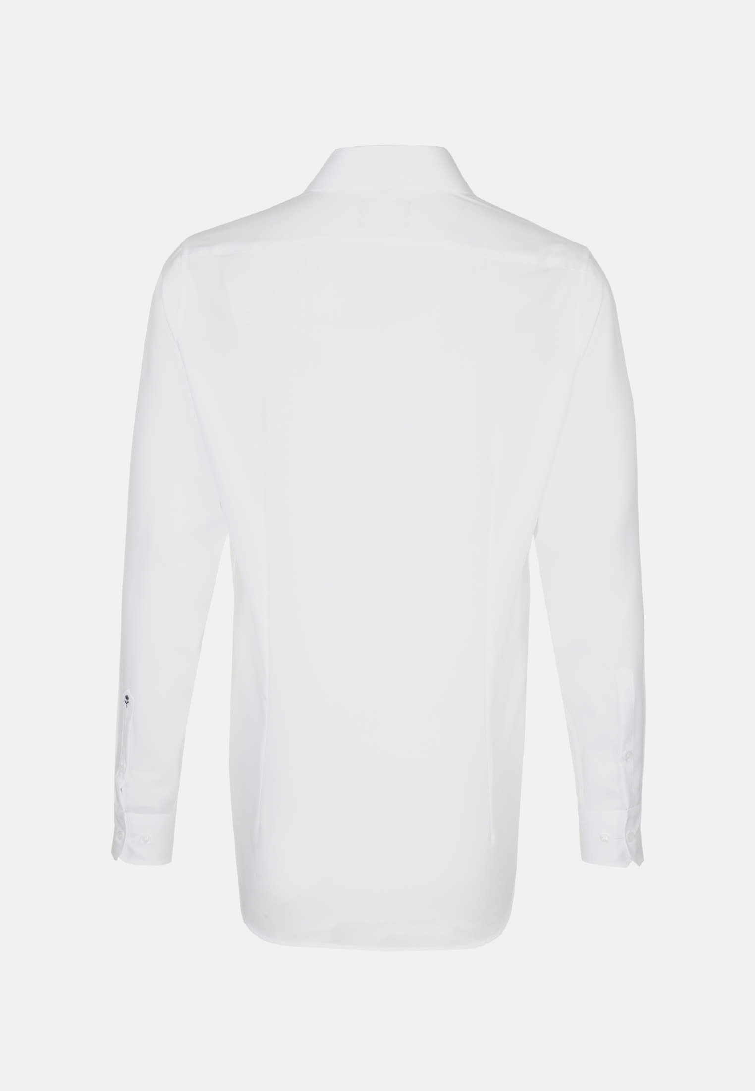Non-iron Oxford Business Shirt in Shaped with Kent-Collar in White |  Seidensticker Onlineshop
