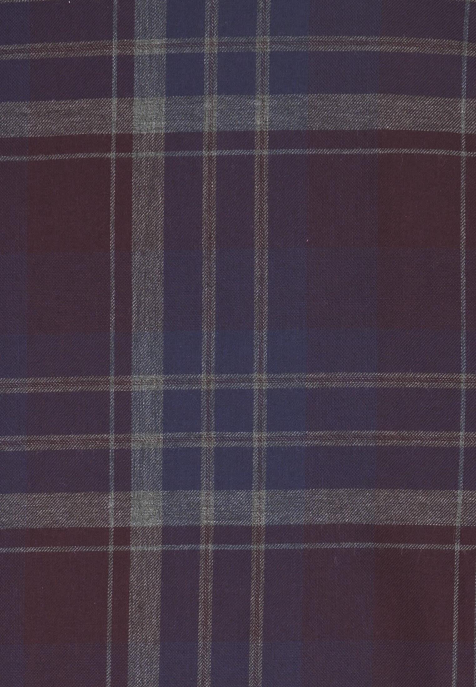 Easy-iron Twill Business Shirt in Modern with Kent-Collar in Dark blue |  Seidensticker Onlineshop