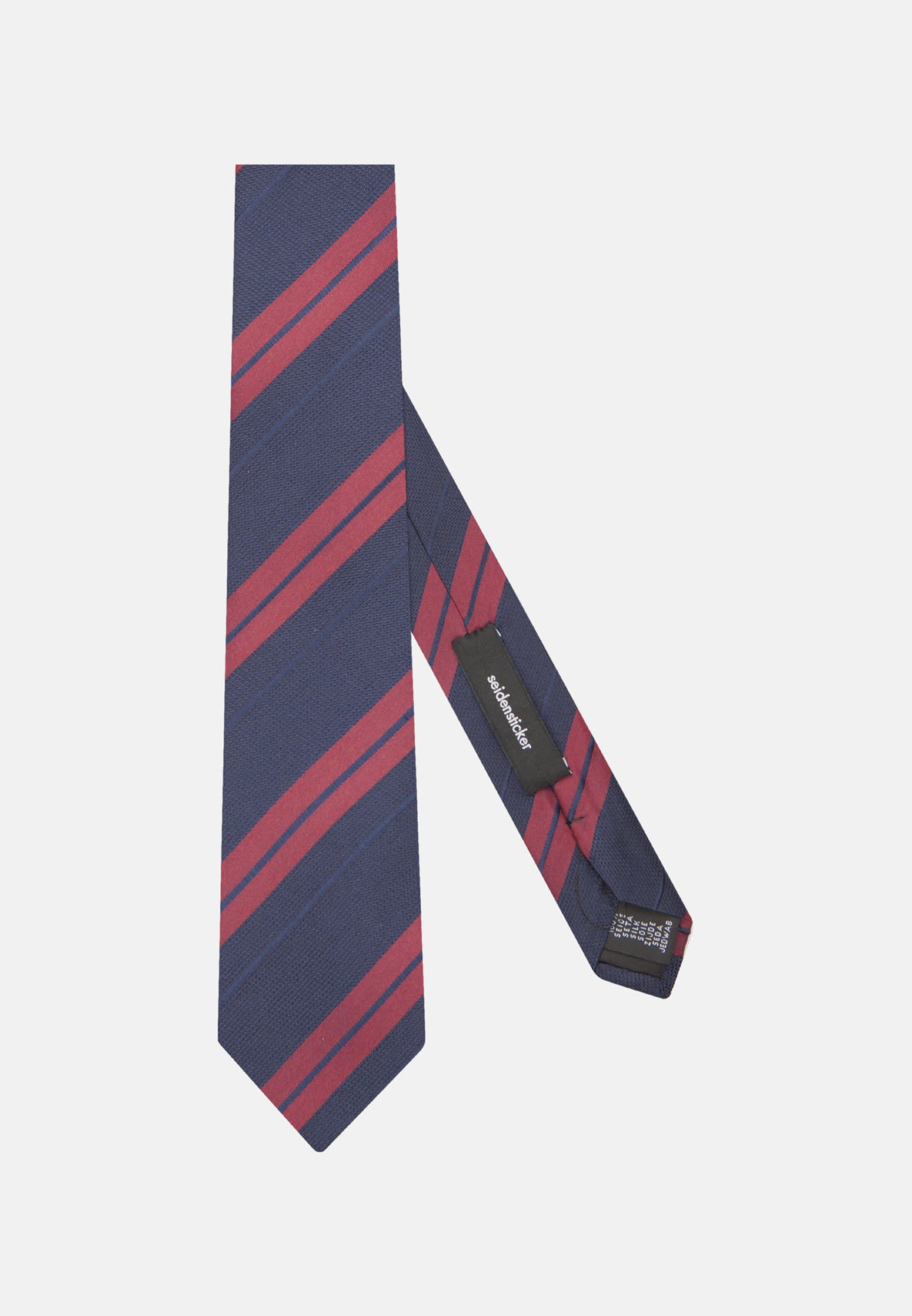 Tie made of 100% Silk 7 cm wide in rot |  Seidensticker Onlineshop