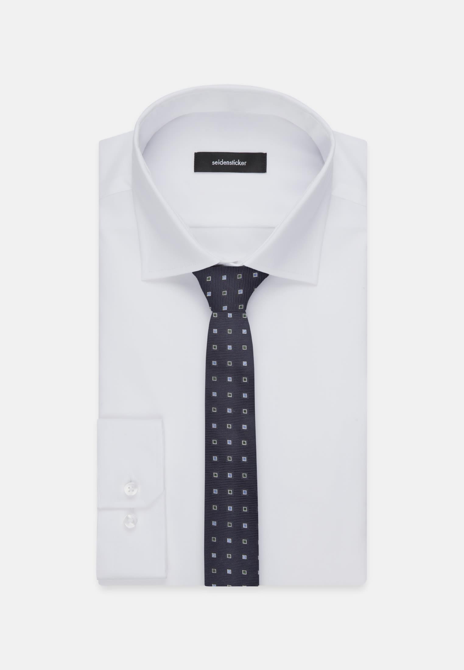 Krawatte aus 100% Seide 7 cm Breit in Grün |  Seidensticker Onlineshop