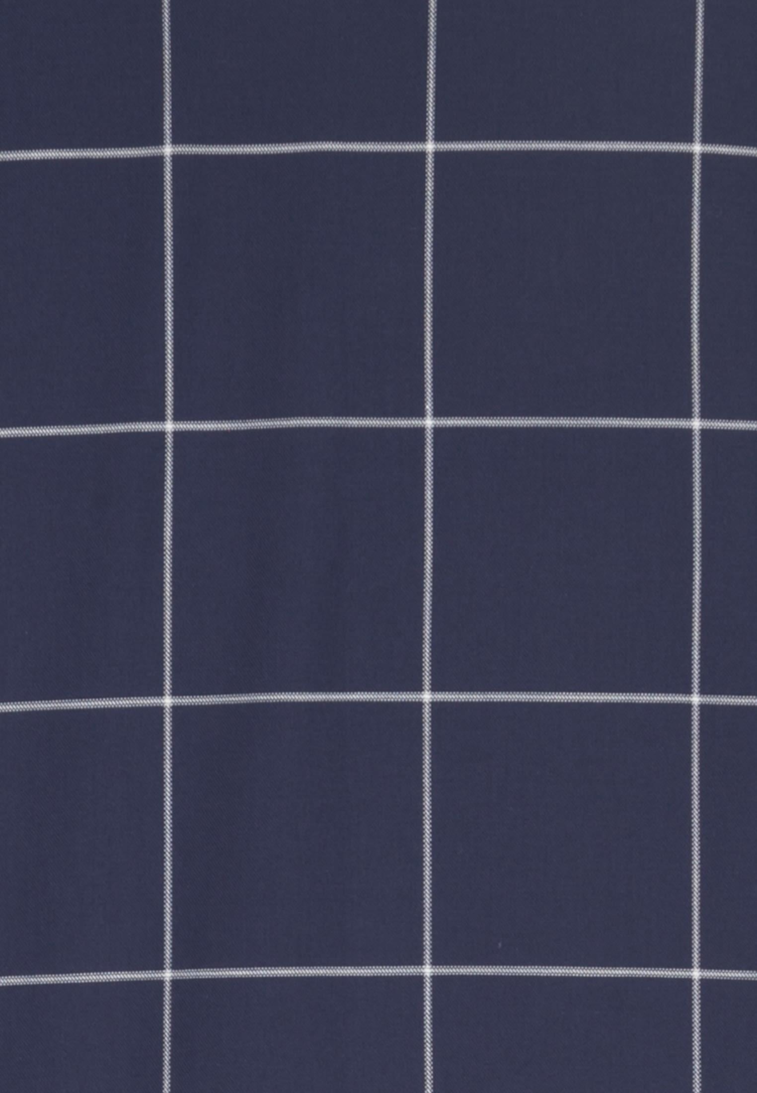 Easy-iron Twill Business Shirt in Modern with Button-Down-Collar in blau |  Seidensticker Onlineshop