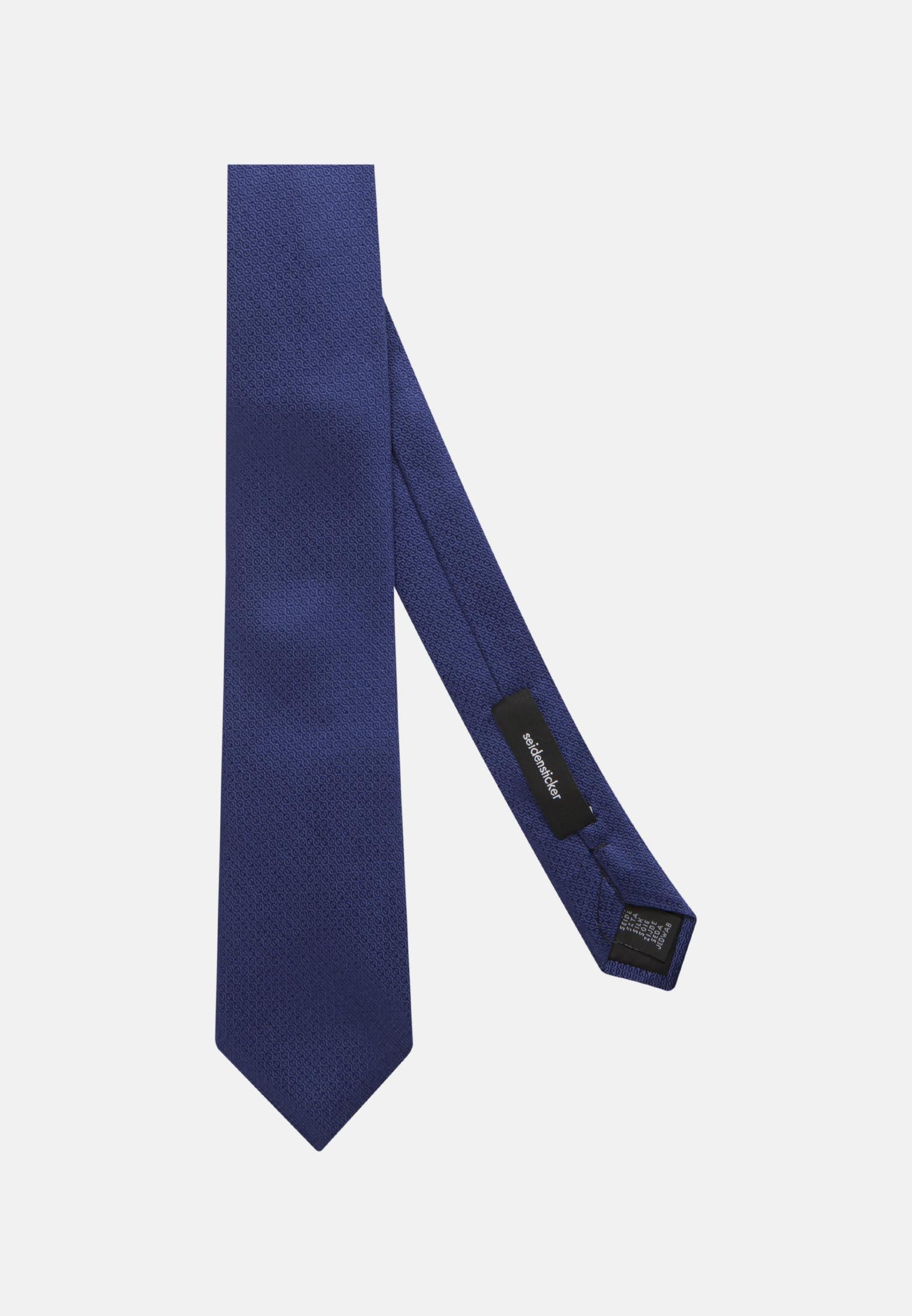 Tie made of 100% Silk 7 cm wide in royal |  Seidensticker Onlineshop