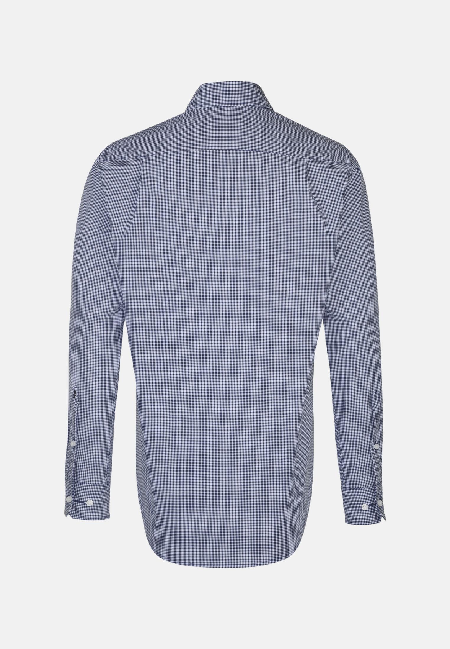 Non-iron Poplin Business Shirt in Comfort with Kent-Collar in Light blue    Seidensticker Onlineshop