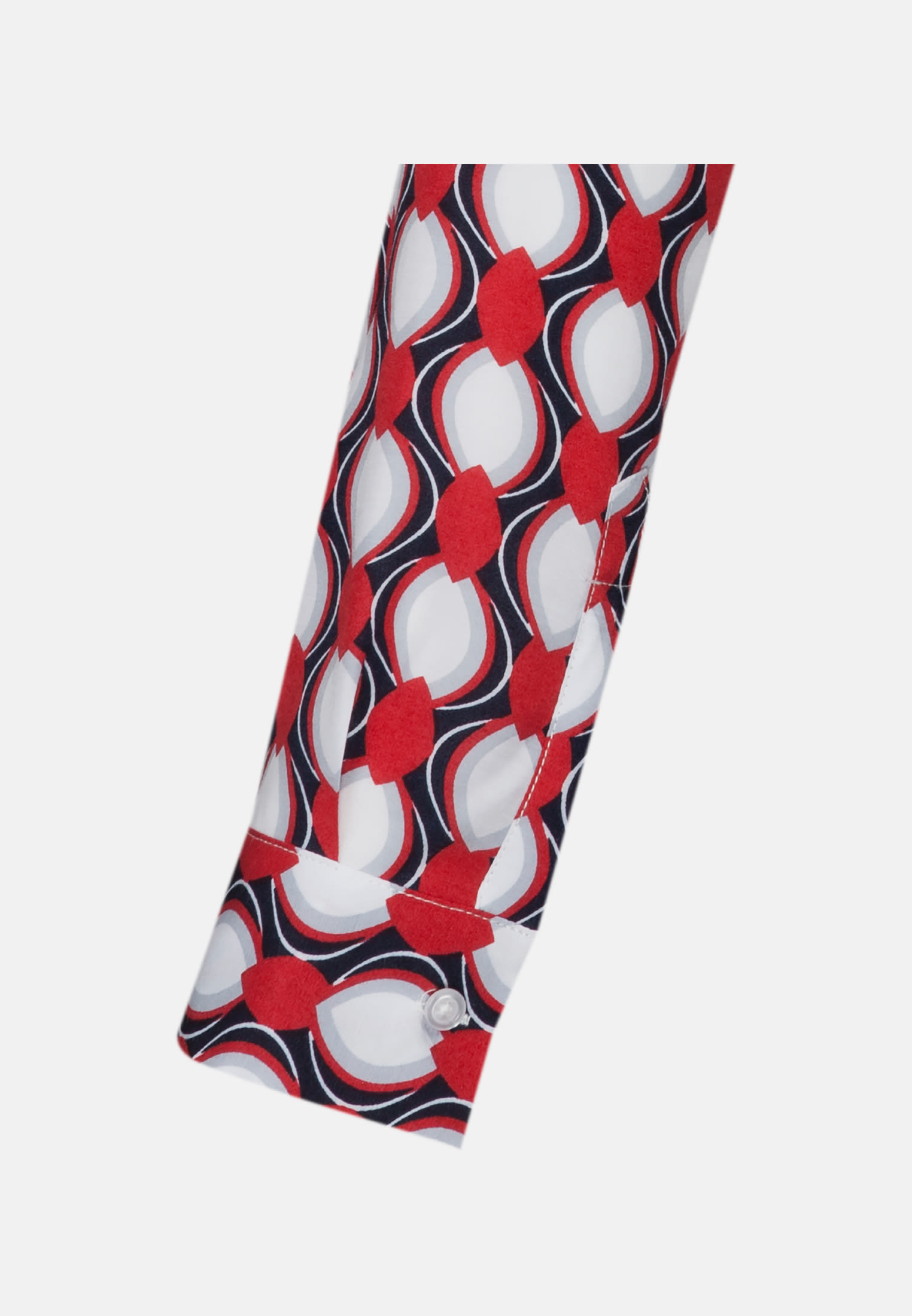 Voile Shirt Blouse made of 100% Viscose in Red    Seidensticker Onlineshop