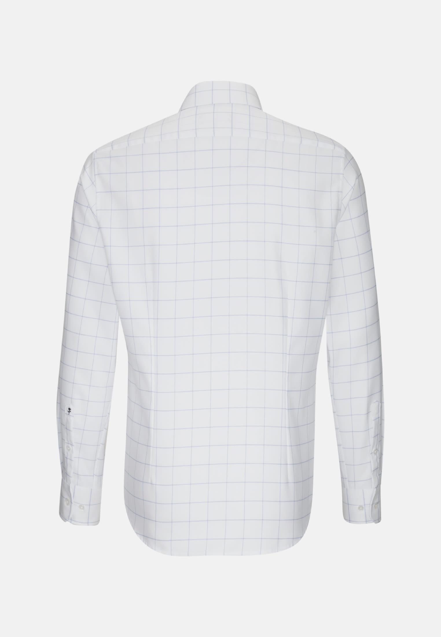 Easy-iron Structure Business Shirt in X-Slim with Kent-Collar in blau    Seidensticker Onlineshop