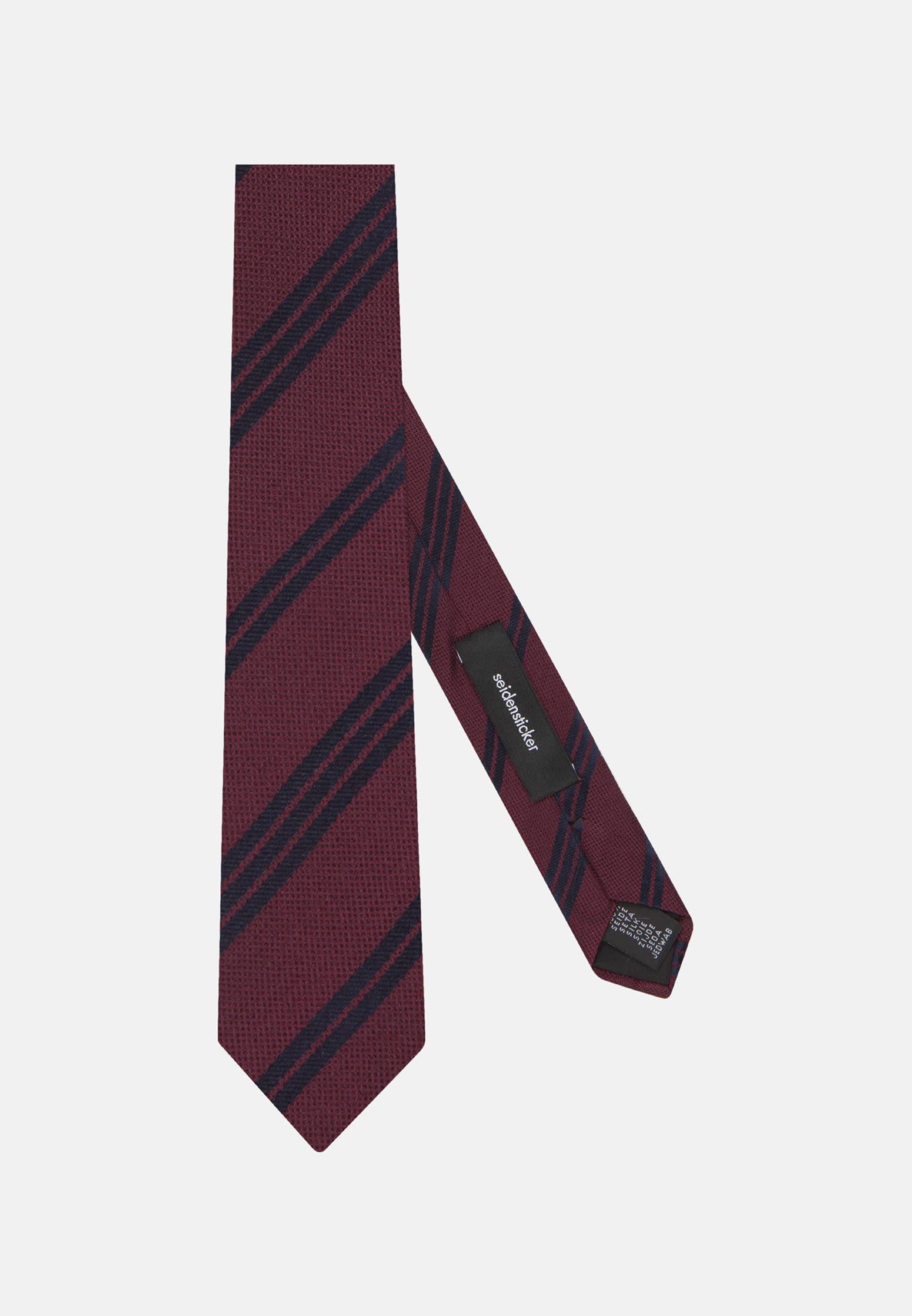 Tie made of 100% Silk 5 cm wide in rot |  Seidensticker Onlineshop