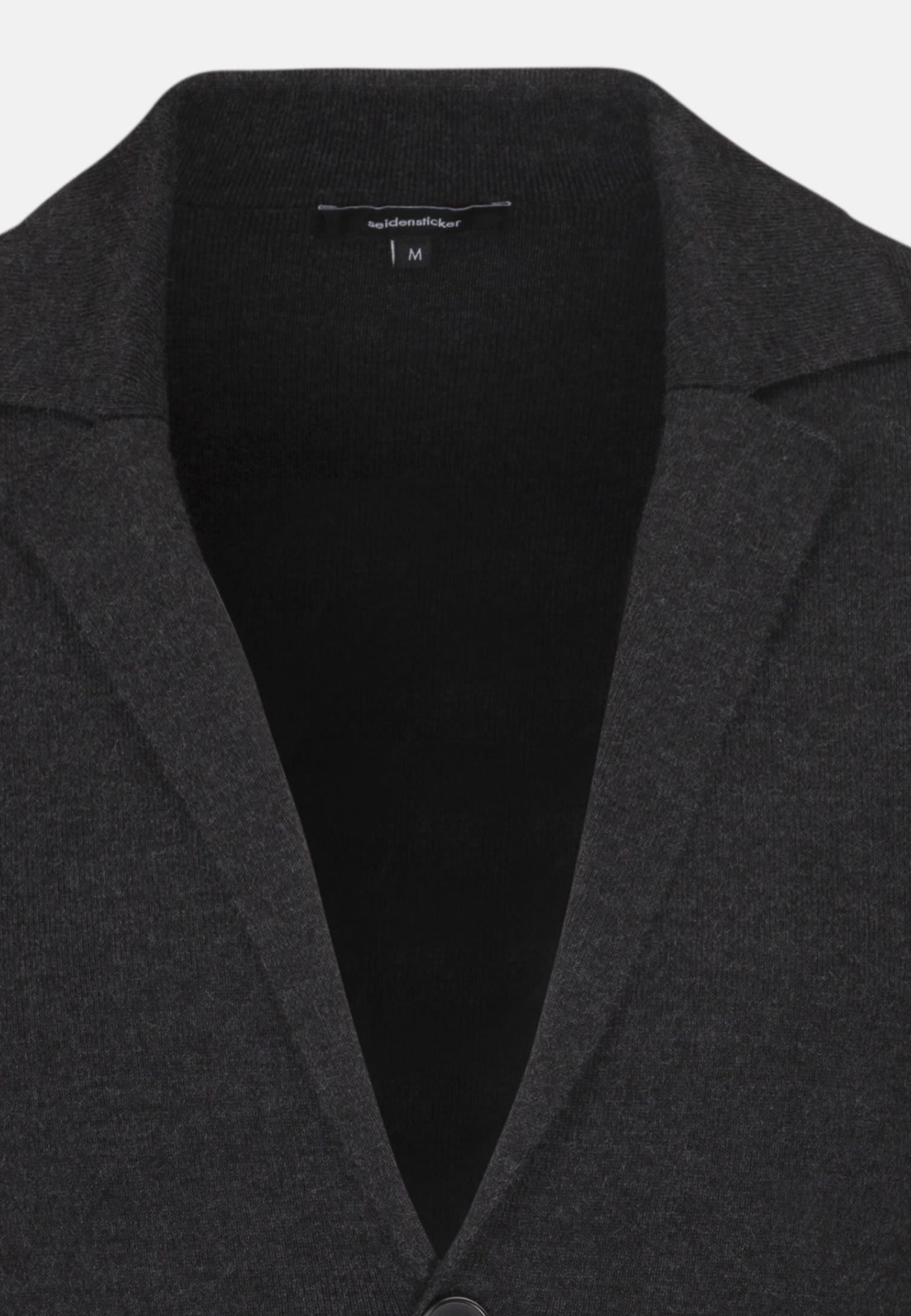 Jacket made of wool blend in Grey |  Seidensticker Onlineshop