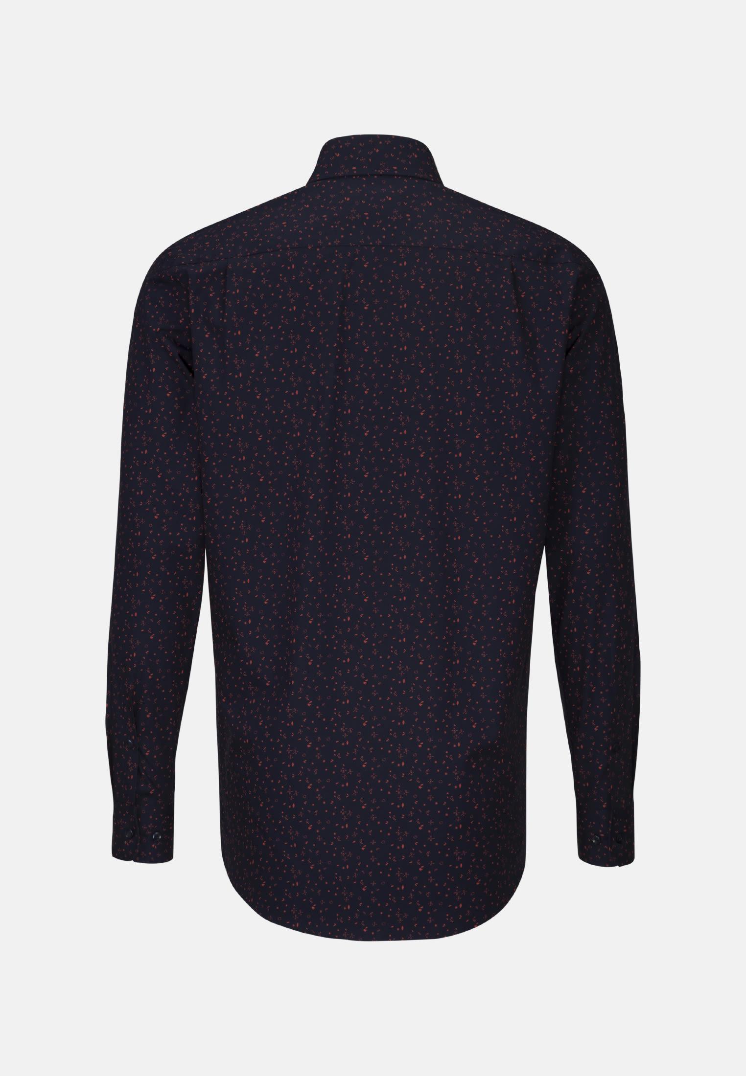 Easy-iron Poplin Business Shirt in Regular with Kent-Collar in Orange |  Seidensticker Onlineshop