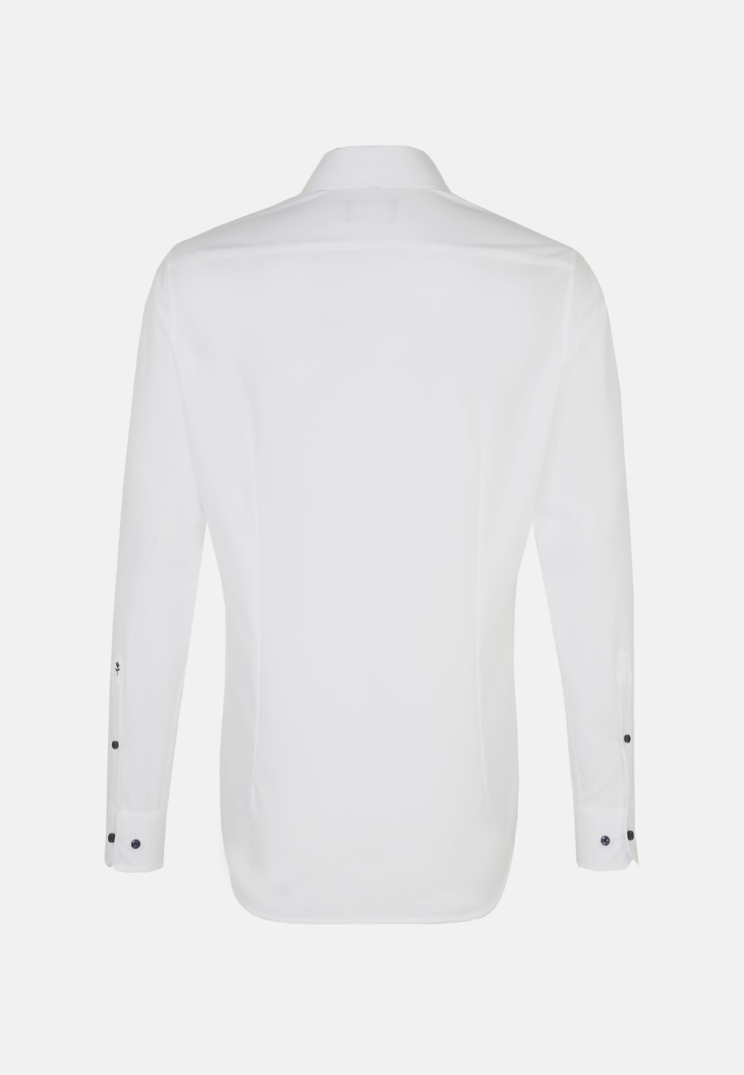 Non-iron Fil a fil Business Shirt in Tailored with Kent-Collar in White |  Seidensticker Onlineshop