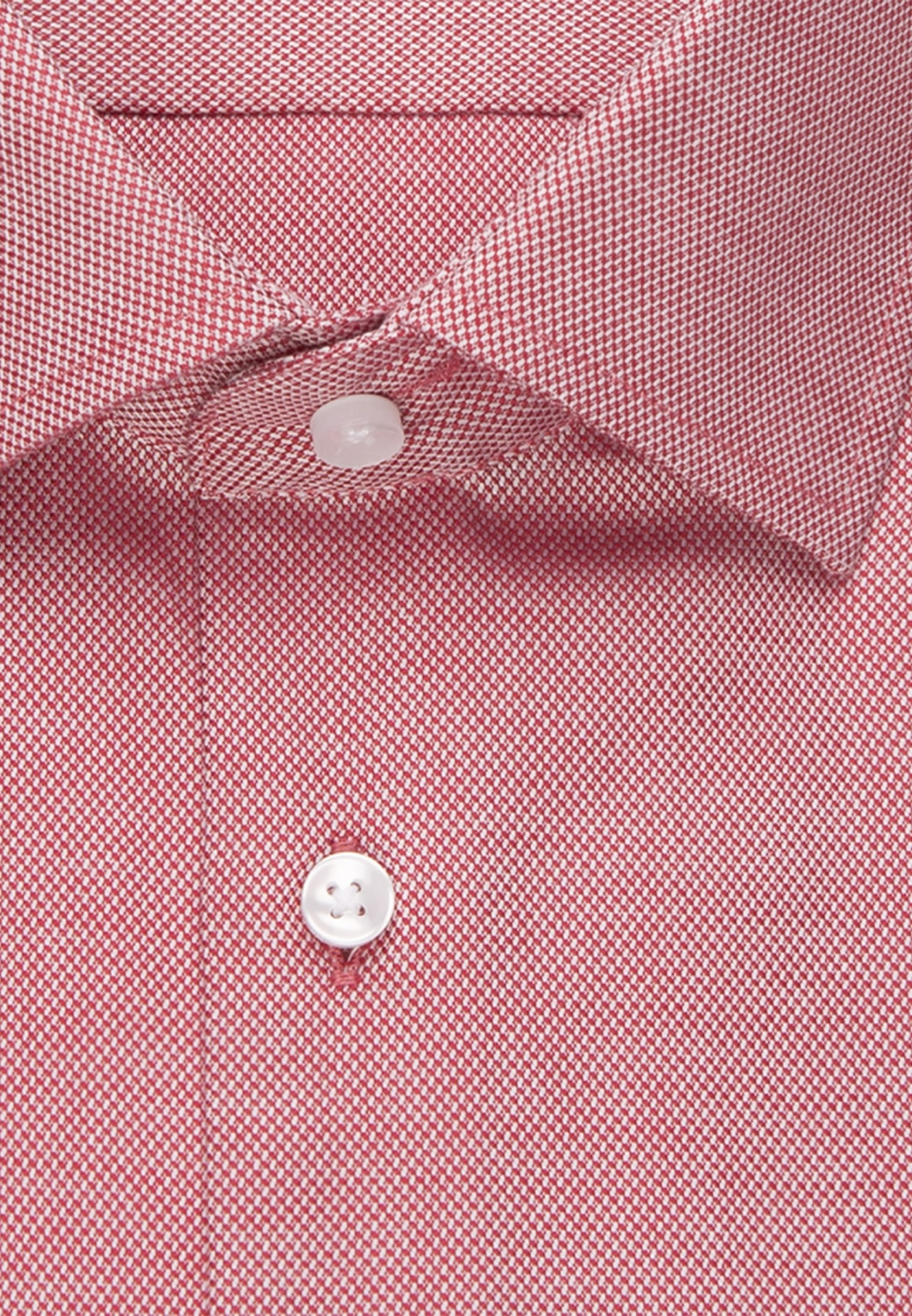 Non-iron Structure Business Shirt in Shaped with Kent-Collar in Red    Seidensticker Onlineshop