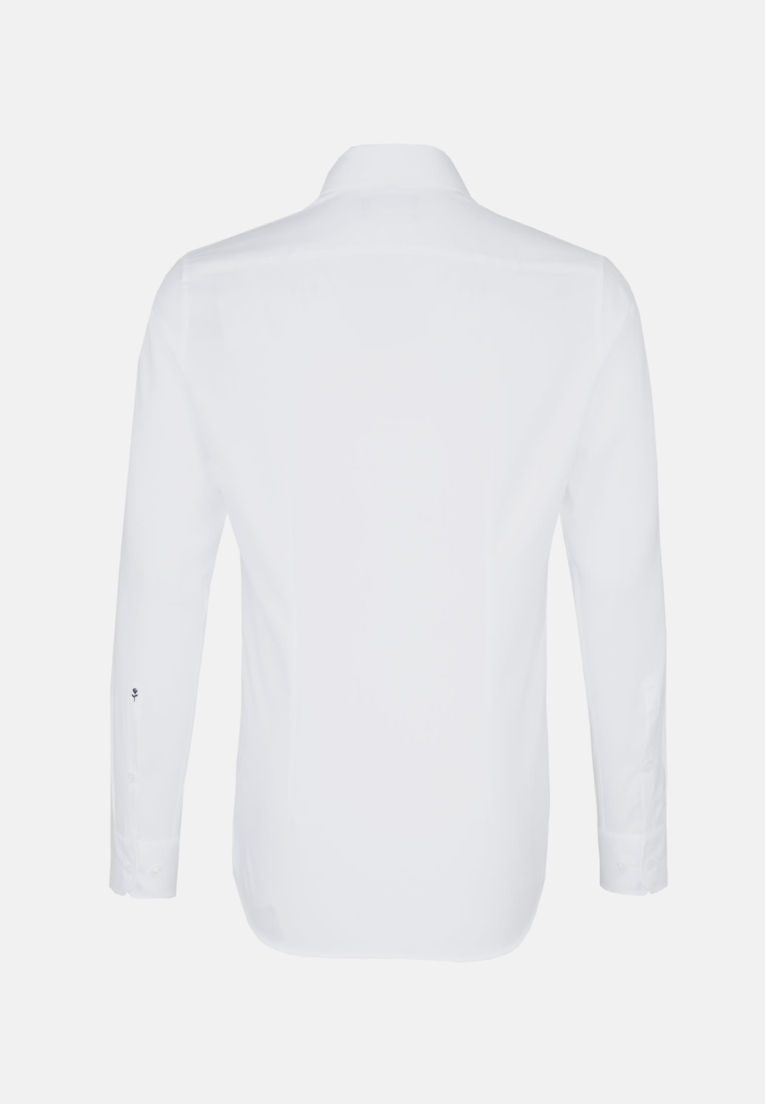 Non-iron Structure Business Shirt in Tailored with Kent-Collar and extra long arm in White |  Seidensticker Onlineshop