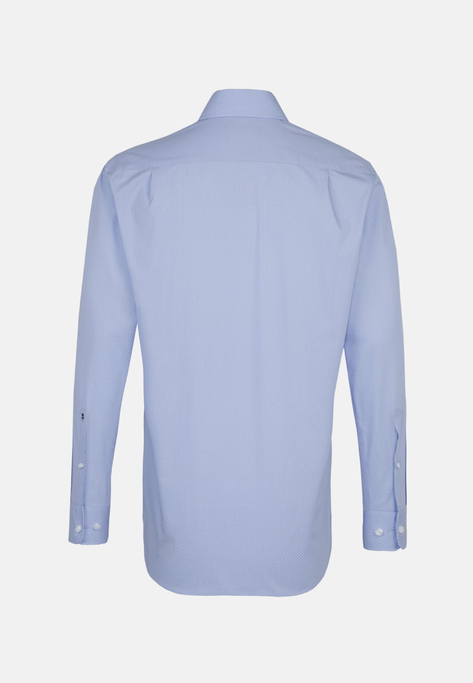 Bügelleichtes Popeline Business Hemd in Comfort mit Kentkragen in Hellblau    Seidensticker Onlineshop