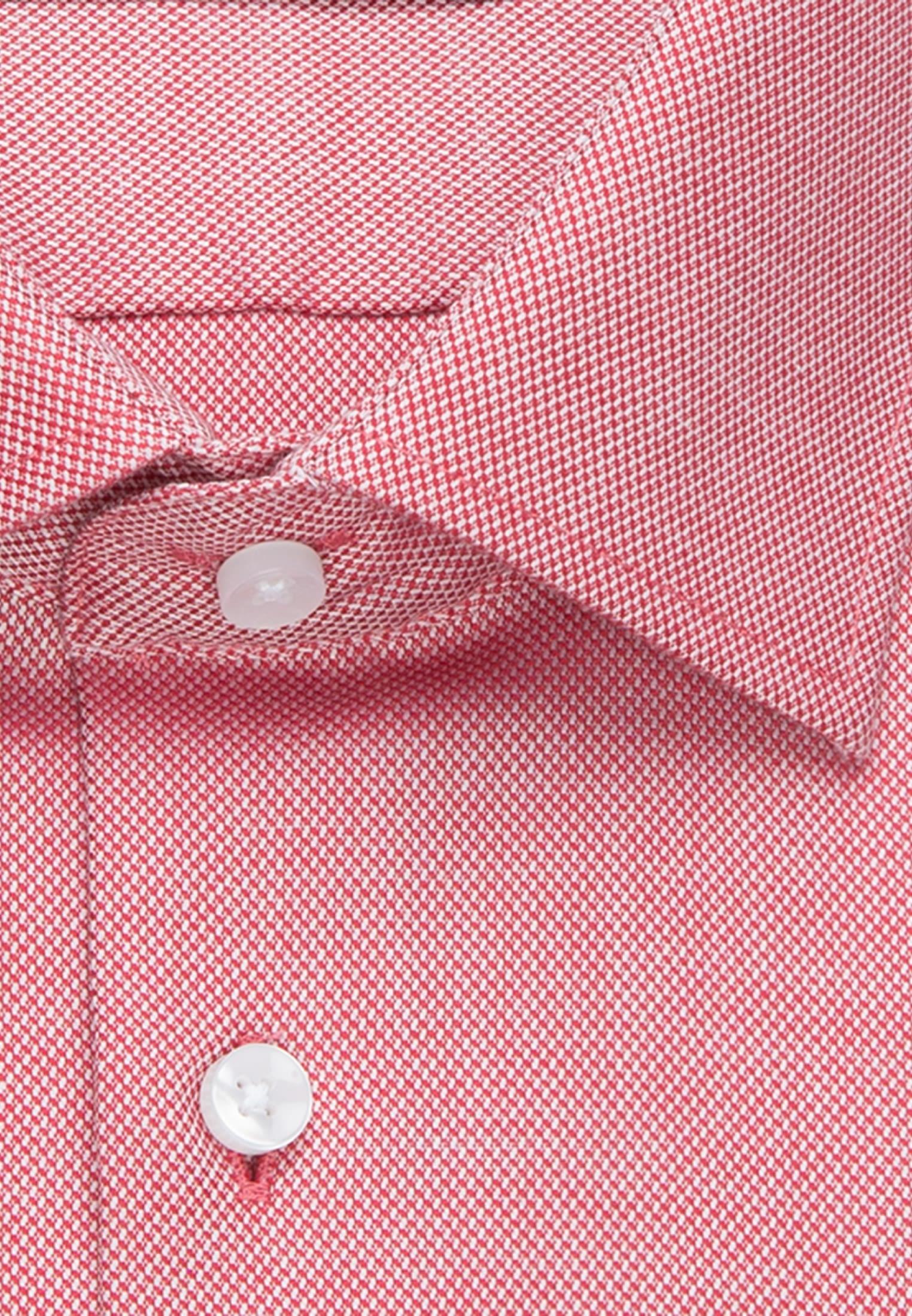 Non-iron Structure Business Shirt in Regular with Kent-Collar in Red |  Seidensticker Onlineshop