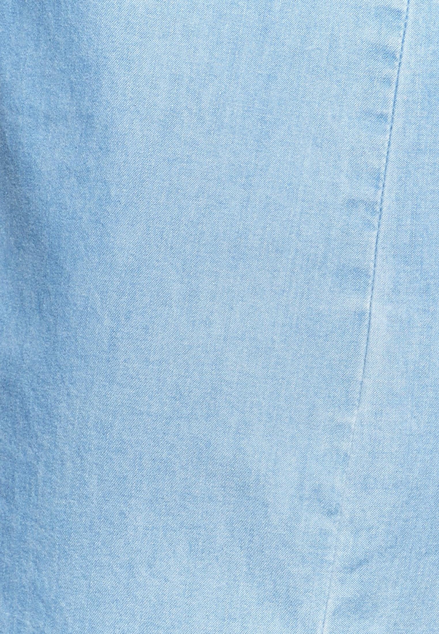 Denim Midi Kleid aus 100% Baumwolle in Hellblau |  Seidensticker Onlineshop