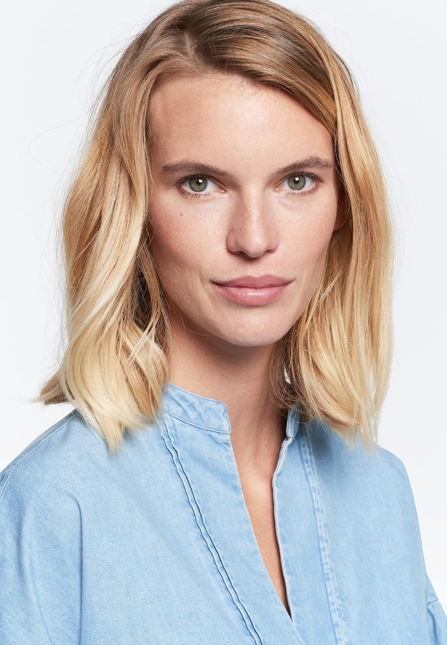 Denim Kleid aus 100% Baumwolle in Hellblau |  Seidensticker Onlineshop